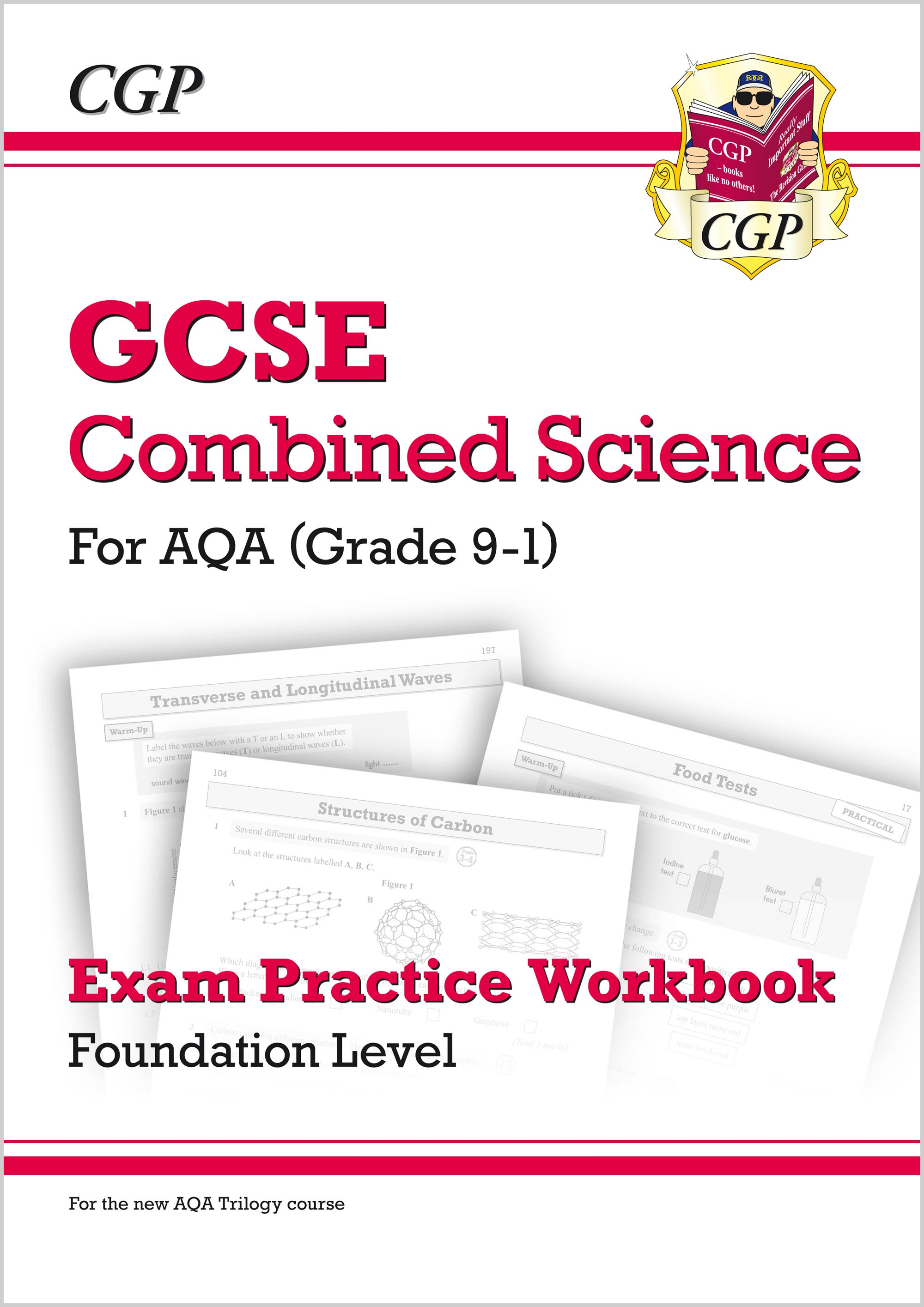 SAFQ41 - New Grade 9-1 GCSE Combined Science: AQA Exam Practice Workbook - Foundation