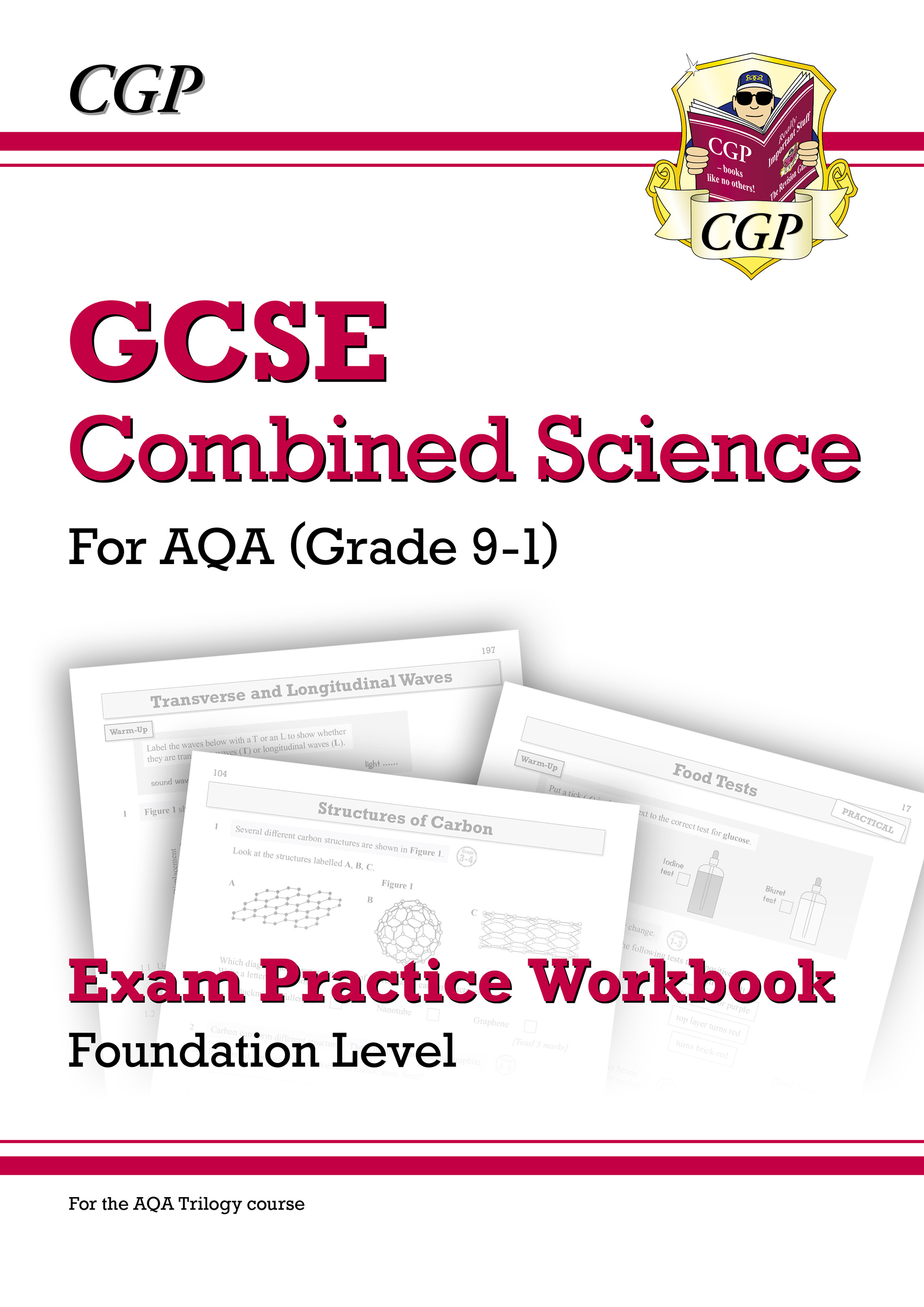 SAFQ41D - Grade 9-1 GCSE Combined Science: AQA Exam Practice Workbook - Foundation Online Edition