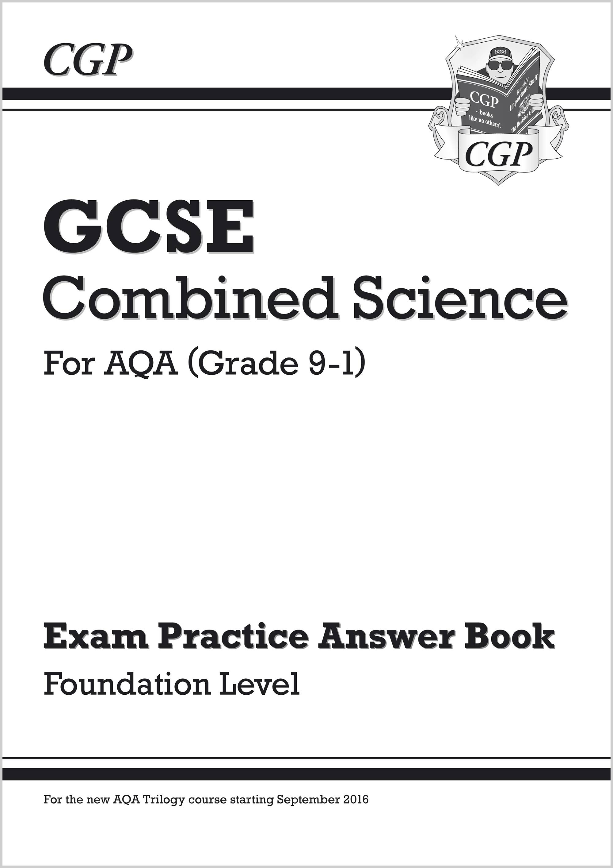SAFQA41 - New GCSE Combined Science: AQA Answers (for Exam Practice Workbook) - Foundation