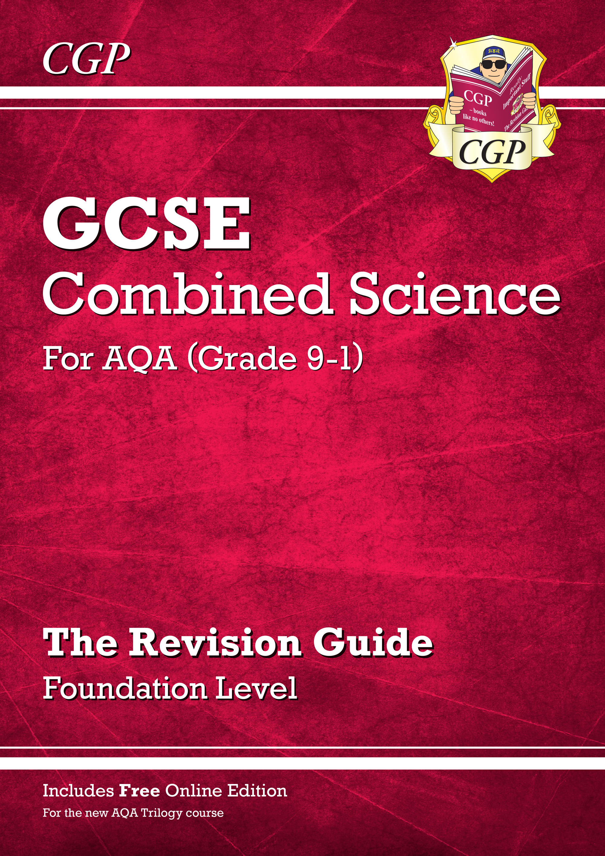 SAFR45 - Grade 9-1 GCSE Combined Science: AQA Revision Guide with Online Edition - Foundation