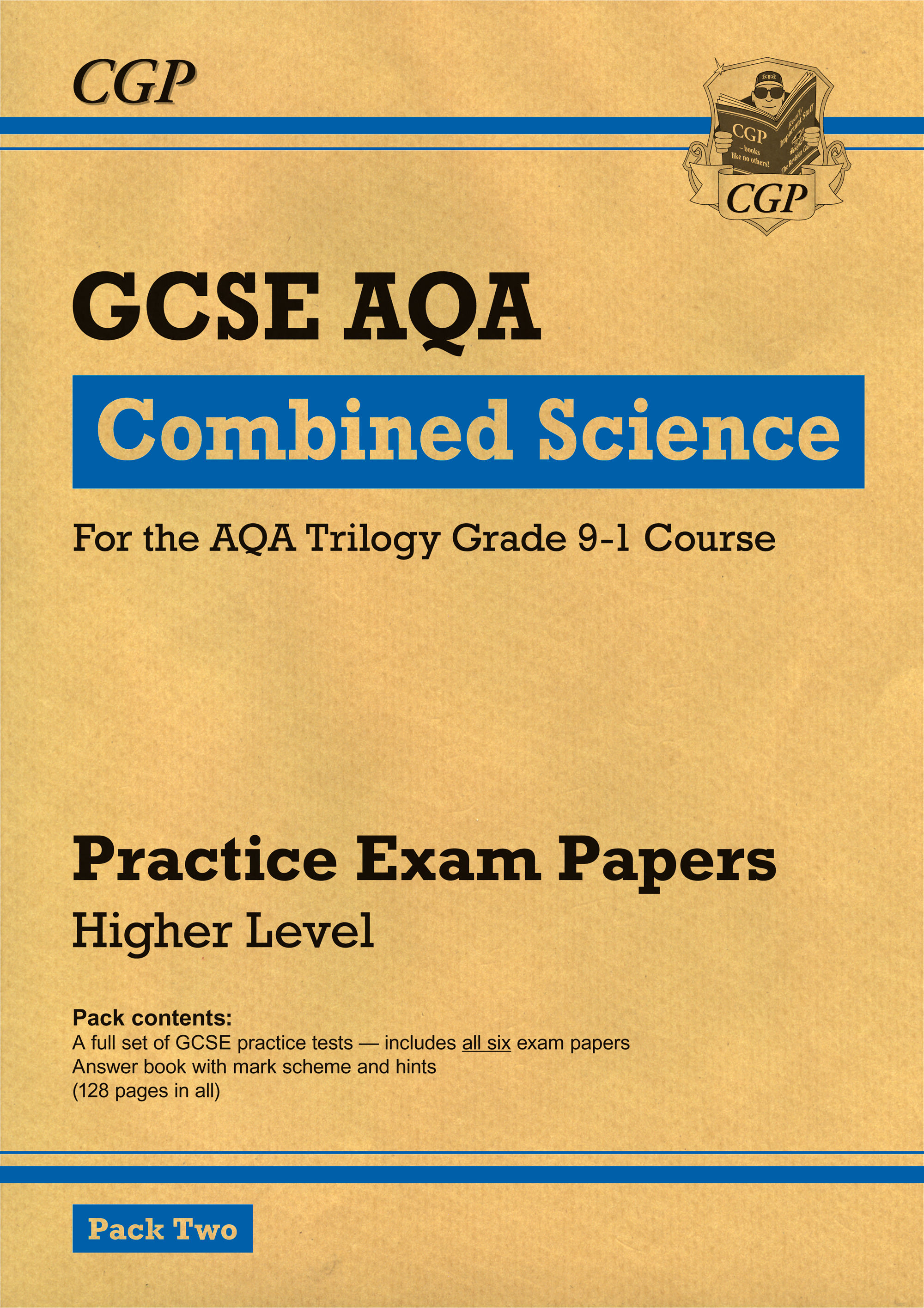SAHP241 - New Grade 9-1 GCSE Combined Science AQA Practice Papers: Higher Pack 2