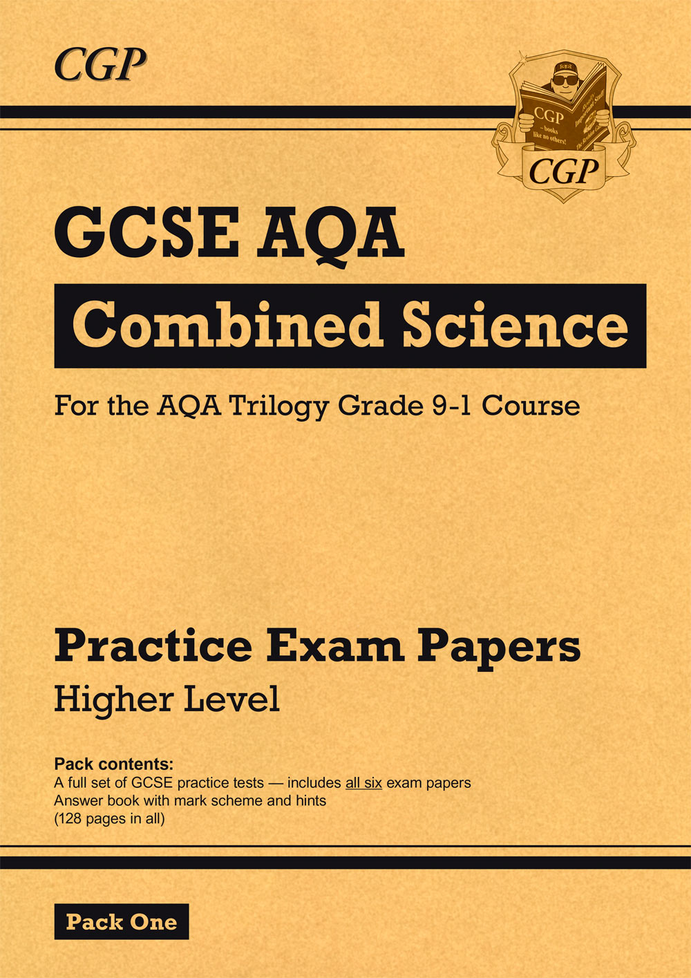 SAHP45 - New Grade 9-1 GCSE Combined Science AQA Practice Papers: Higher Pack 1