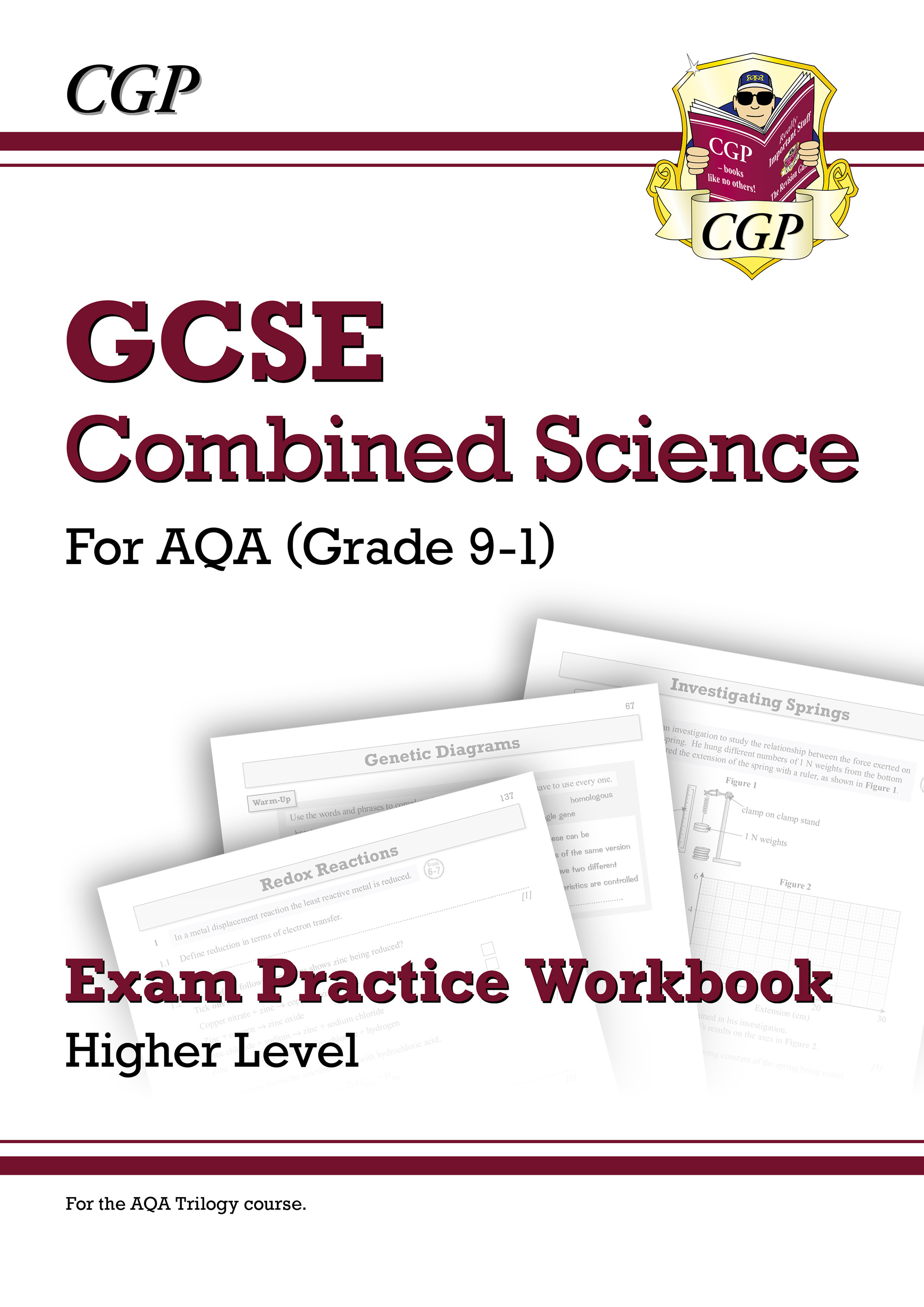 SAHQ41D - Grade 9-1 GCSE Combined Science: AQA Exam Practice Workbook - Higher Online Edition