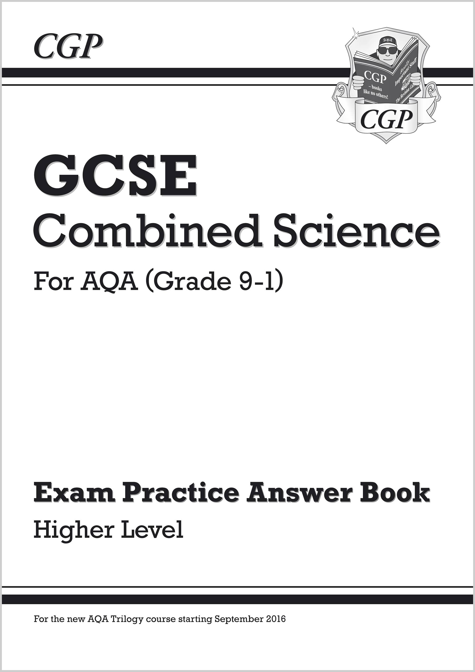 SAHQA41 - GCSE Combined Science: AQA Answers (for Exam Practice Workbook) - Higher