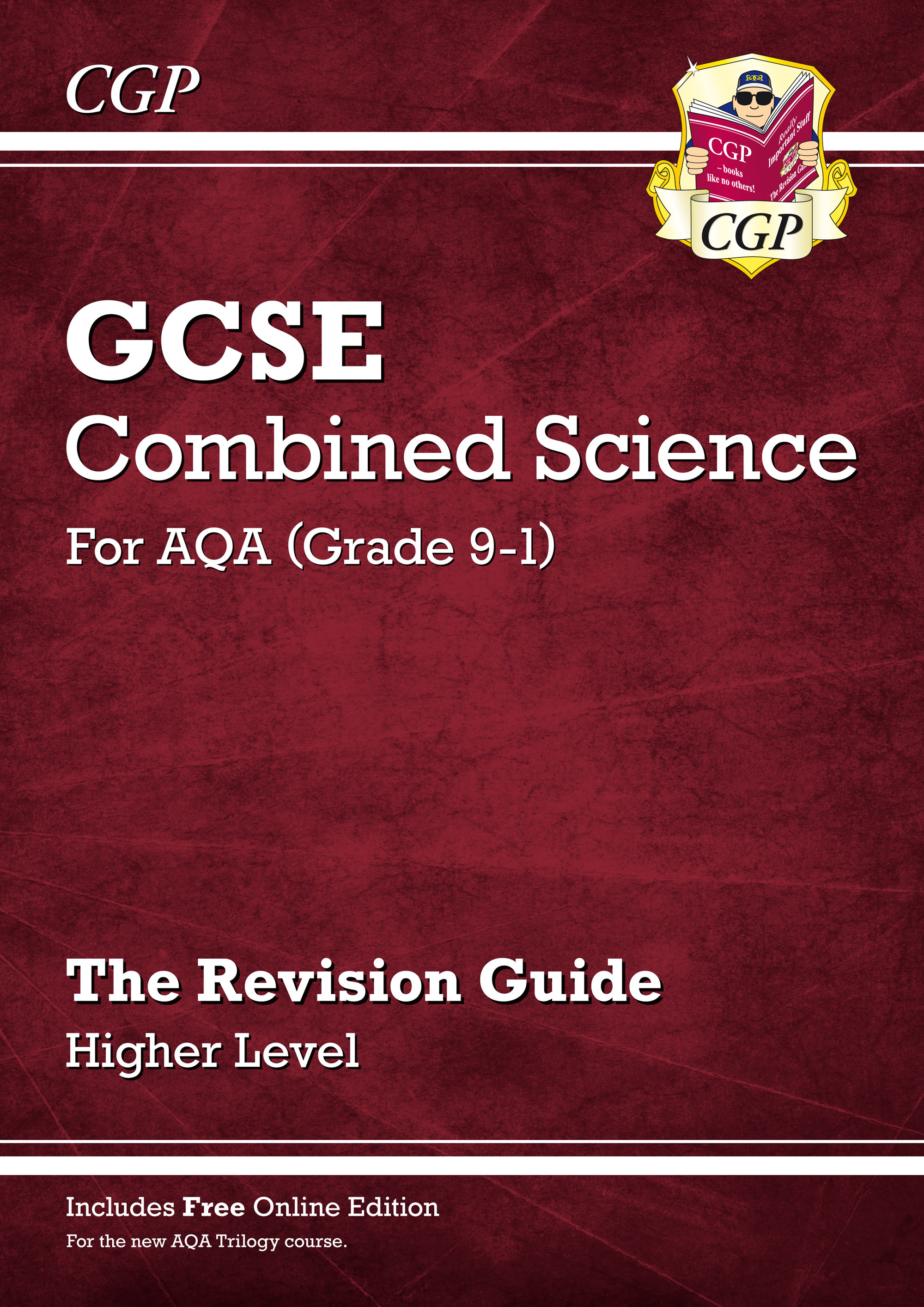 SAHR45 - Grade 9-1 GCSE Combined Science: AQA Revision Guide with Online Edition - Higher