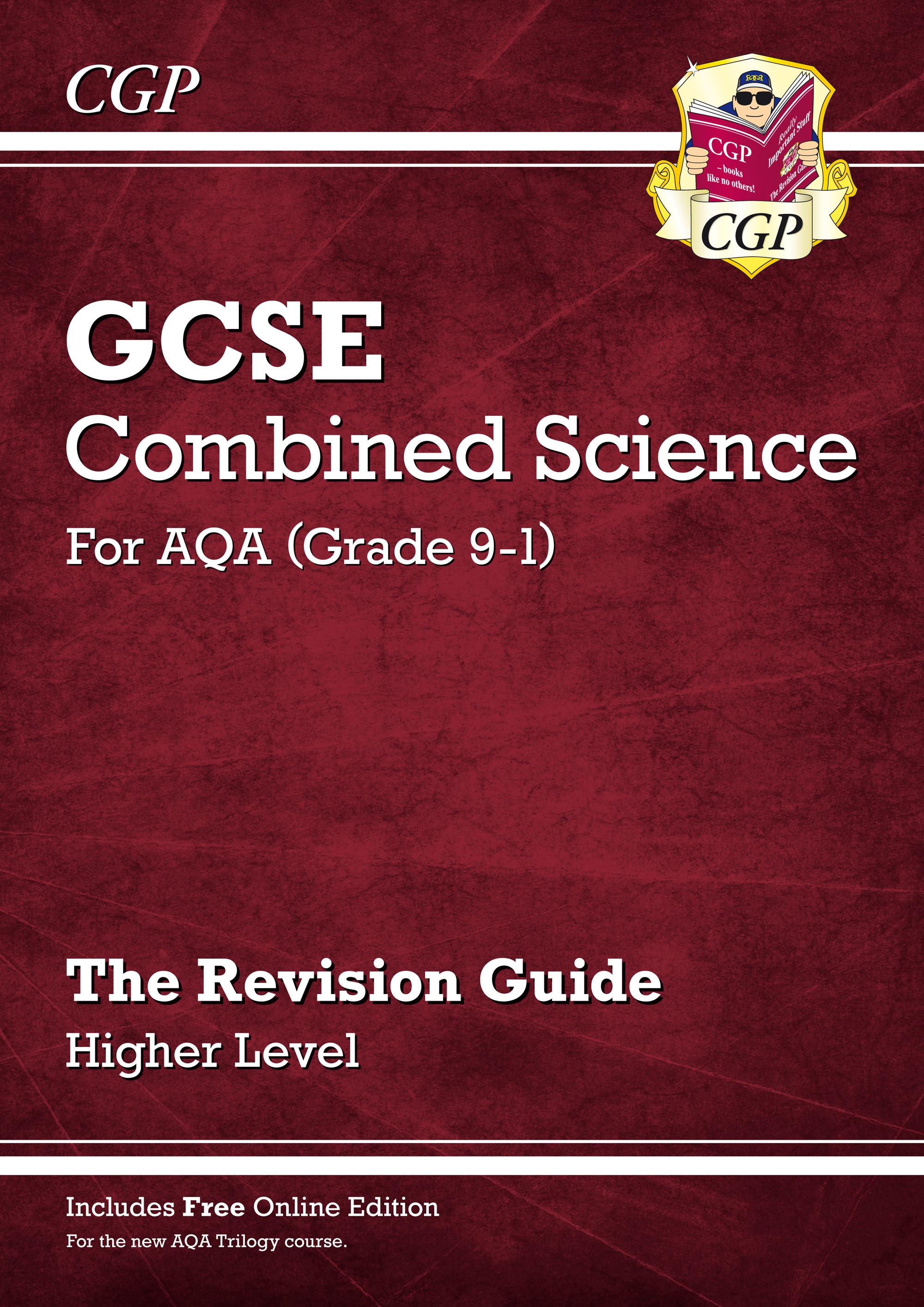 aqa gcse chemistry revision guide pdf