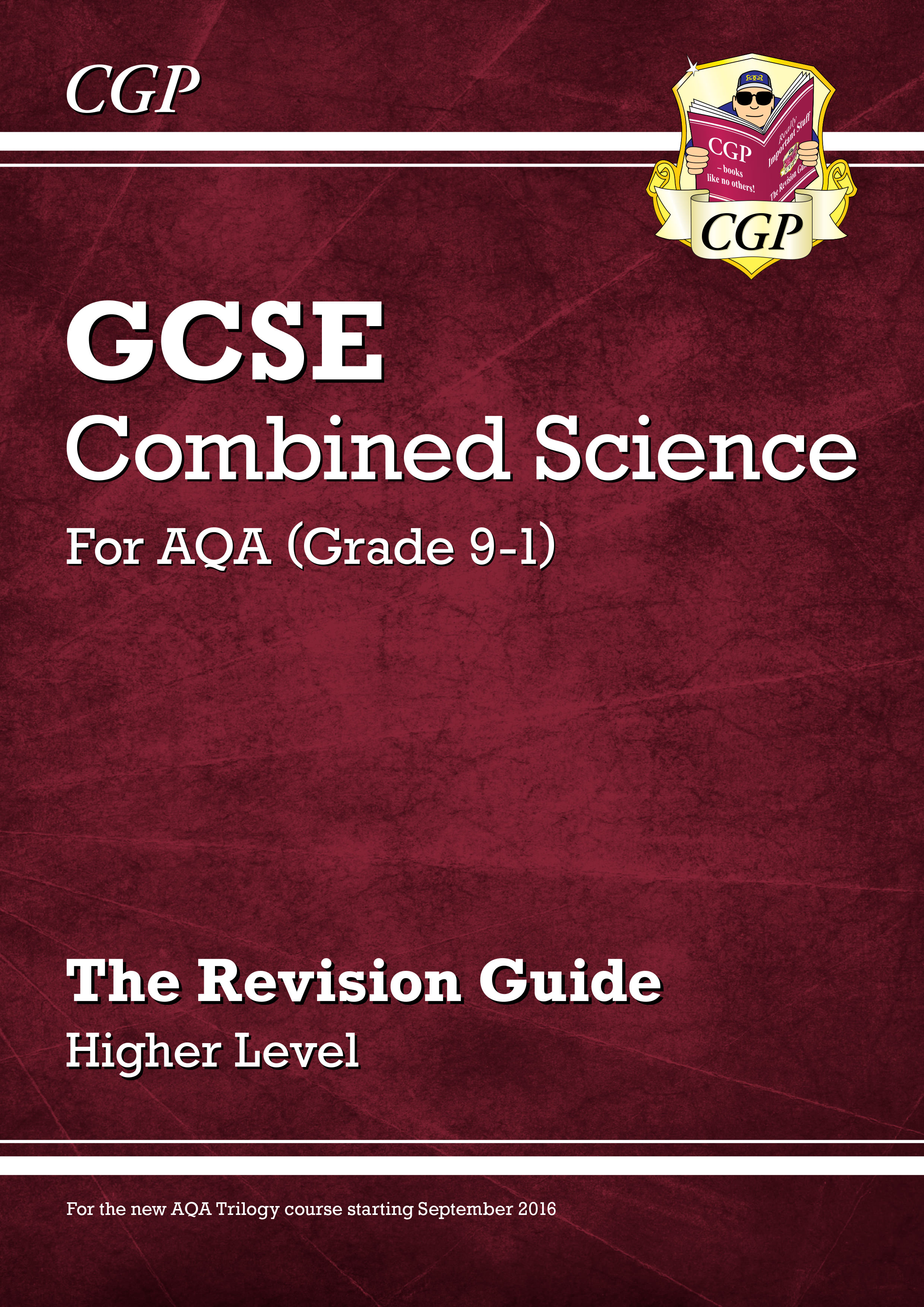 SAHR45DK - New Grade 9-1 GCSE Combined Science: AQA Revision Guide - Higher