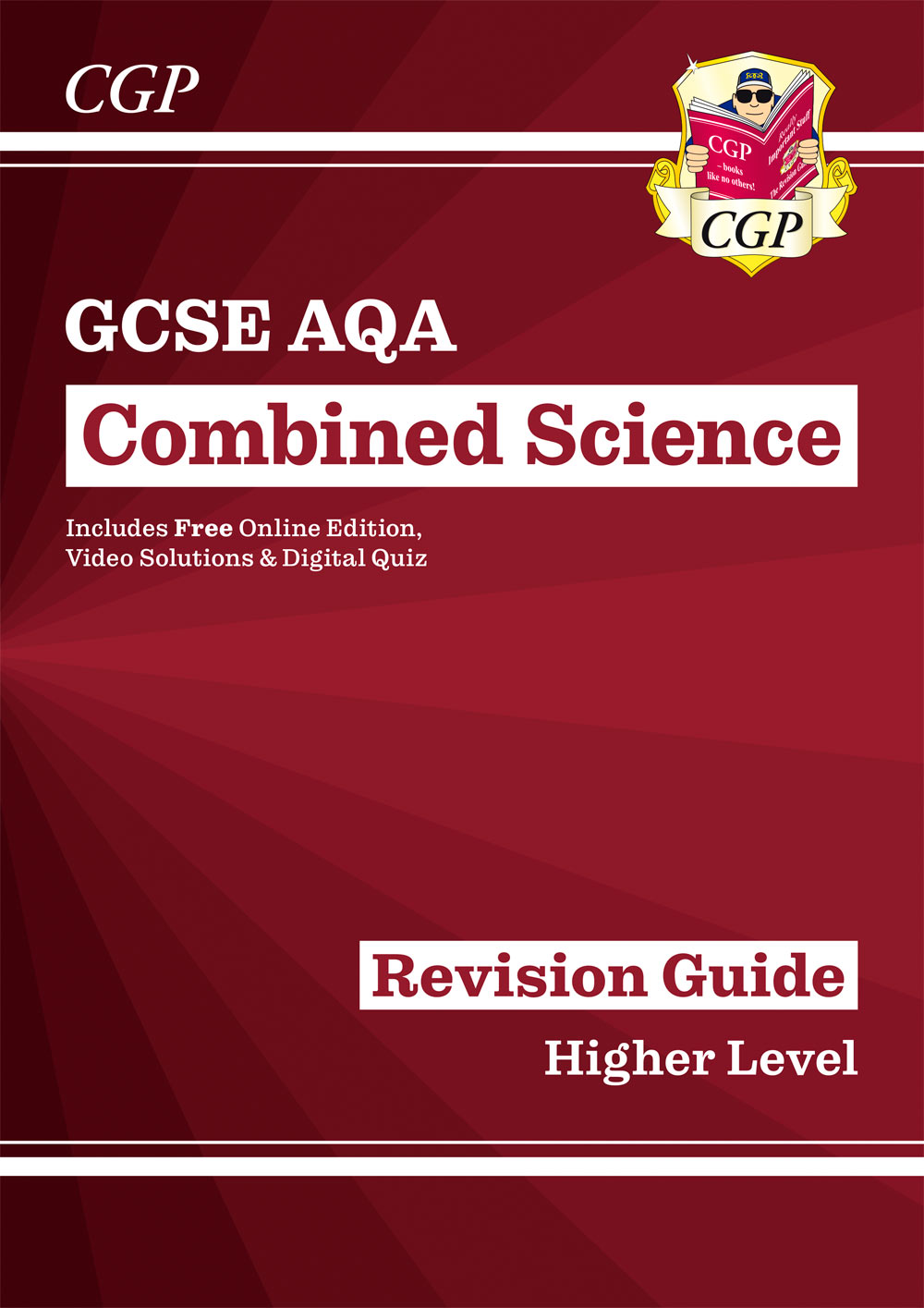 SAHR46 - New GCSE Combined Science AQA Revision Guide - Higher includes Online Edition, Videos & Qui