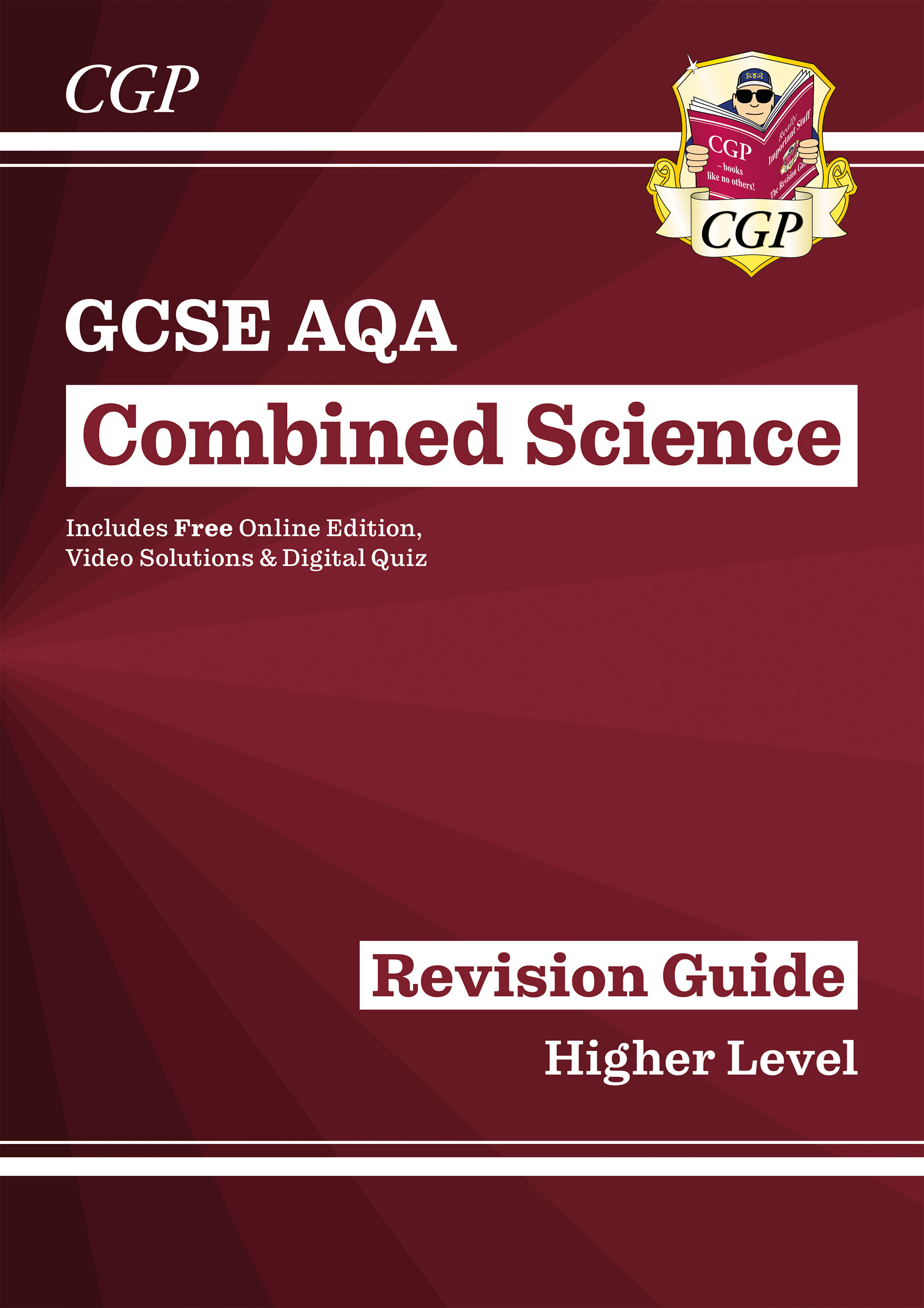 SAHR46D - New GCSE Combined Science AQA Revision Guide - Higher Online Edition, Videos & Quizzes