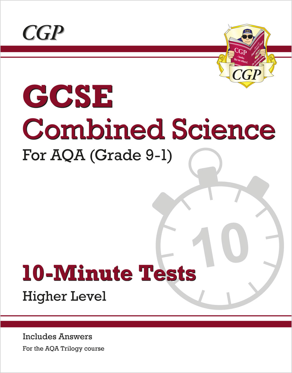 SAHXP41 - New Grade 9-1 GCSE Combined Science: AQA 10-Minute Tests (with answers) - Higher