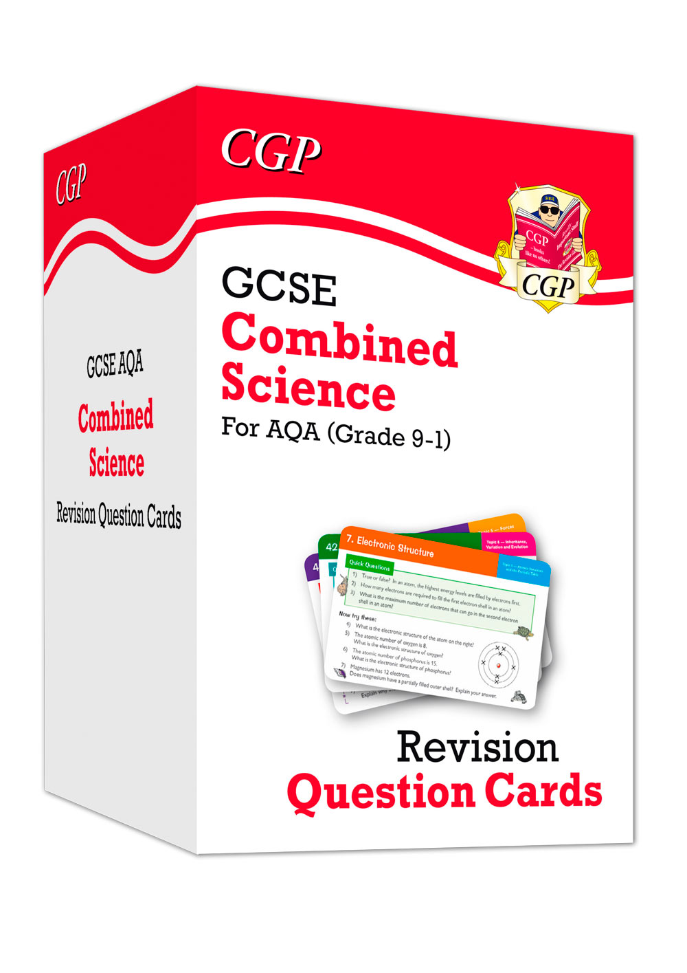 SCAF41 - New 9-1 GCSE Combined Science AQA Revision Question Cards: All-in-one Biology, Chemistry &