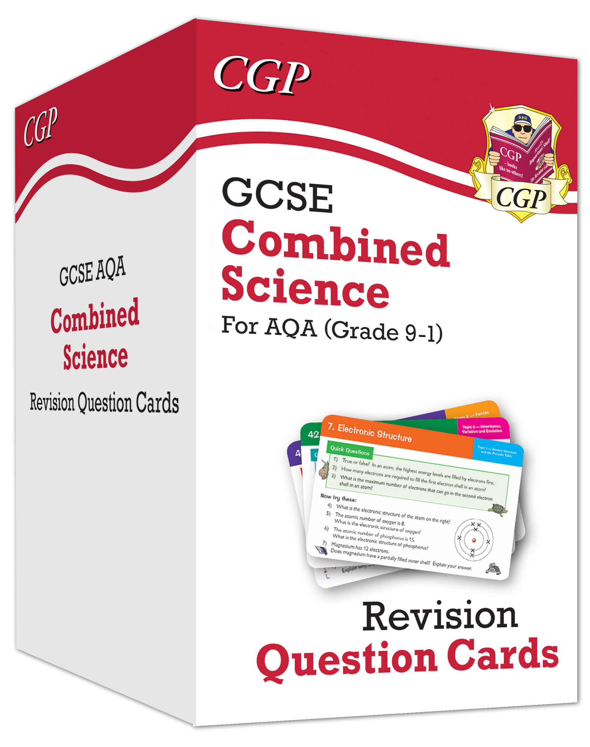 SCAF41D - New 9-1 GCSE Combined Science AQA Revision Cards: All-in-one Biology, Chemistry & Physics