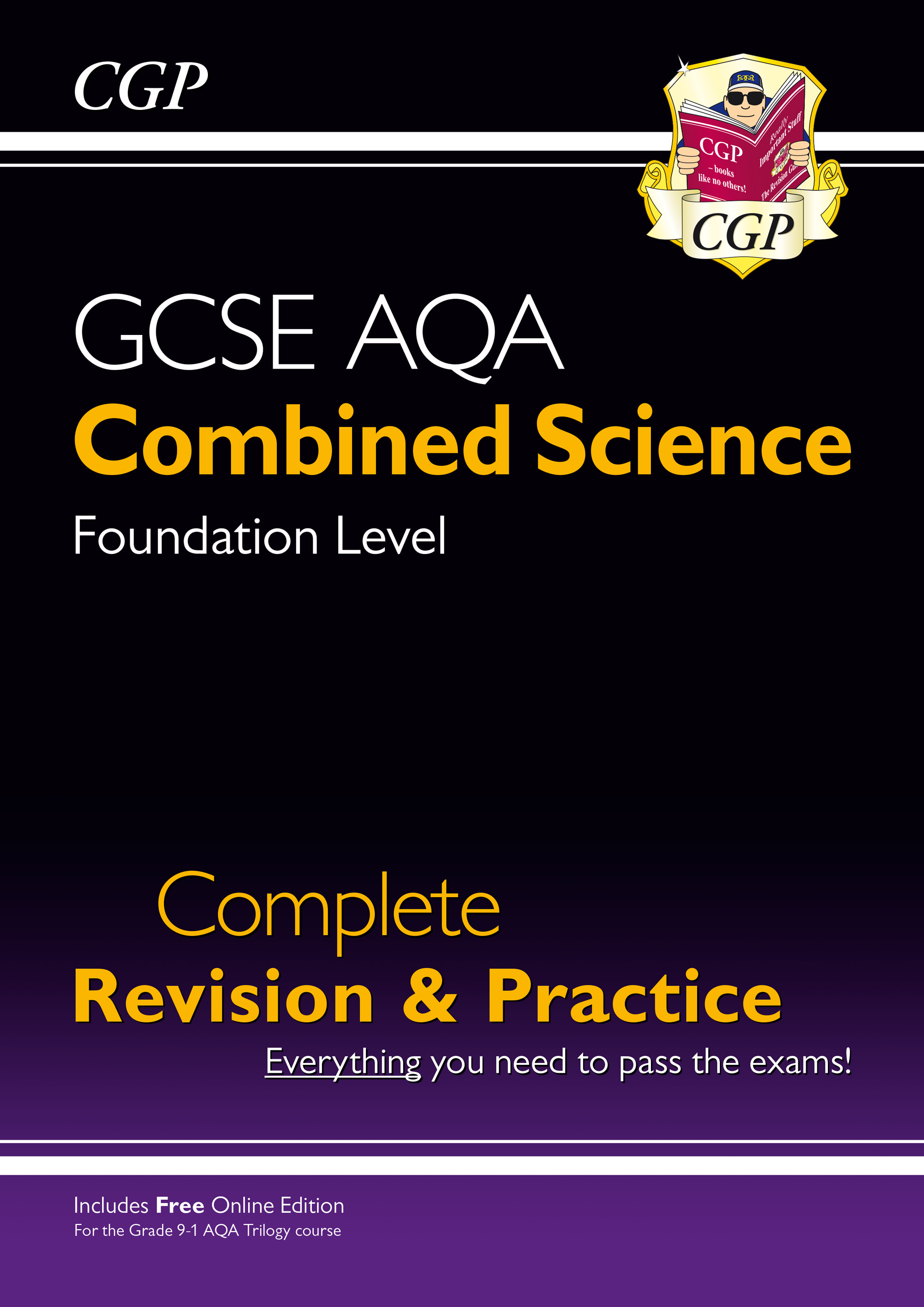 SCAFS41 - New 9-1 GCSE Combined Science: AQA Foundation Complete Revision & Practice (with Online Ed