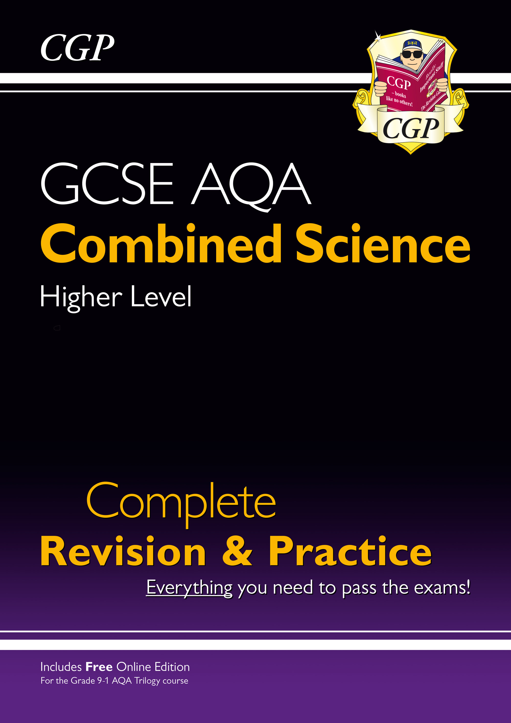 SCAHS41 - New 9-1 GCSE Combined Science: AQA Higher Complete Revision & Practice (with Online Editio