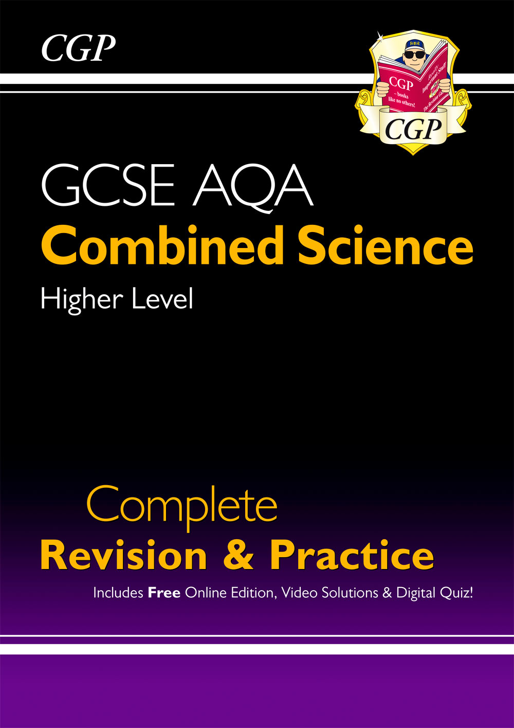 SCAHS42 - New GCSE Combined Science AQA Higher Complete Revision & Practice w/ Online Ed, Videos & Q