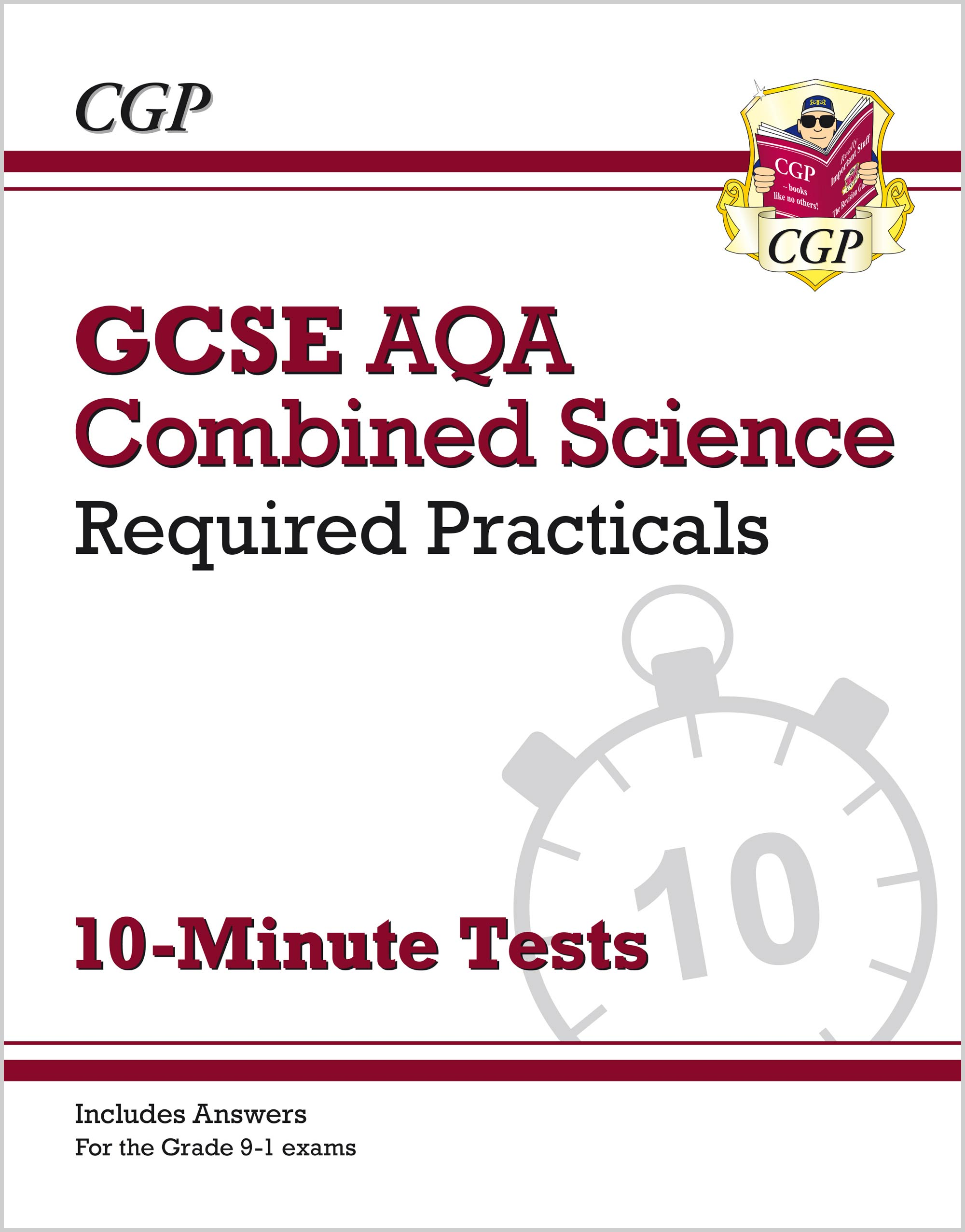 SCAPRXP41 - New Grade 9-1 GCSE Combined Science: AQA Required Practicals 10-Minute Tests (includes A