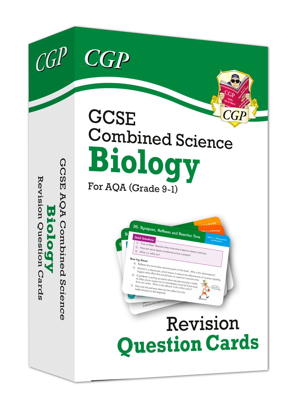 SCBAF41 - 9-1 GCSE Combined Science: Biology AQA Revision Question Cards