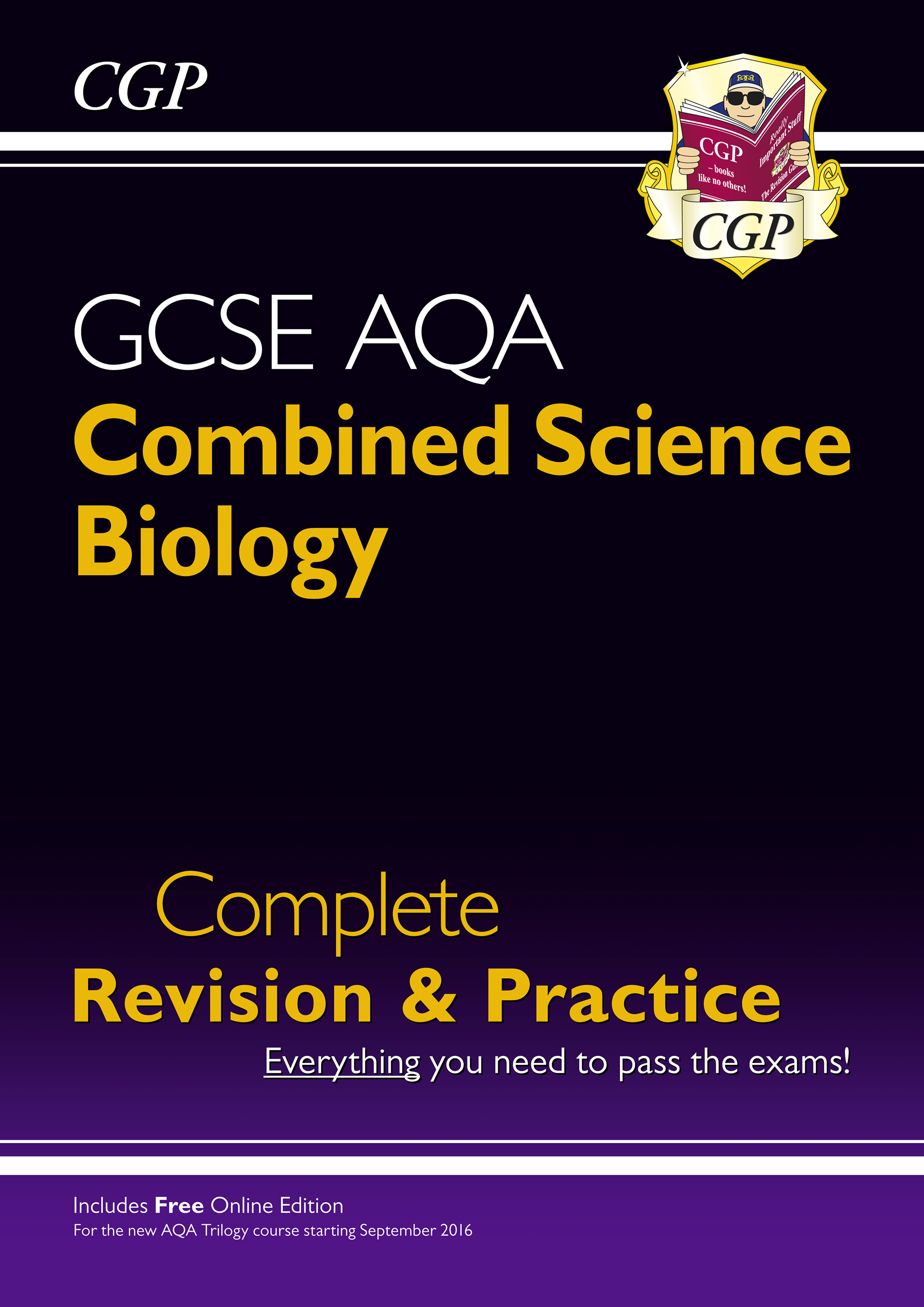 SCBAS41 - New 9-1 GCSE Combined Science: Biology AQA Higher Complete Revision & Practice with Online