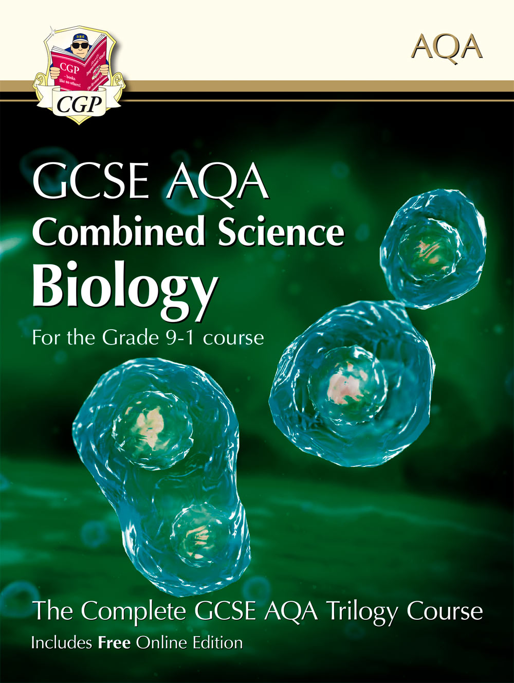 SCBAT41 - Grade 9-1 GCSE Combined Science for AQA Biology Student Book with Online Edition