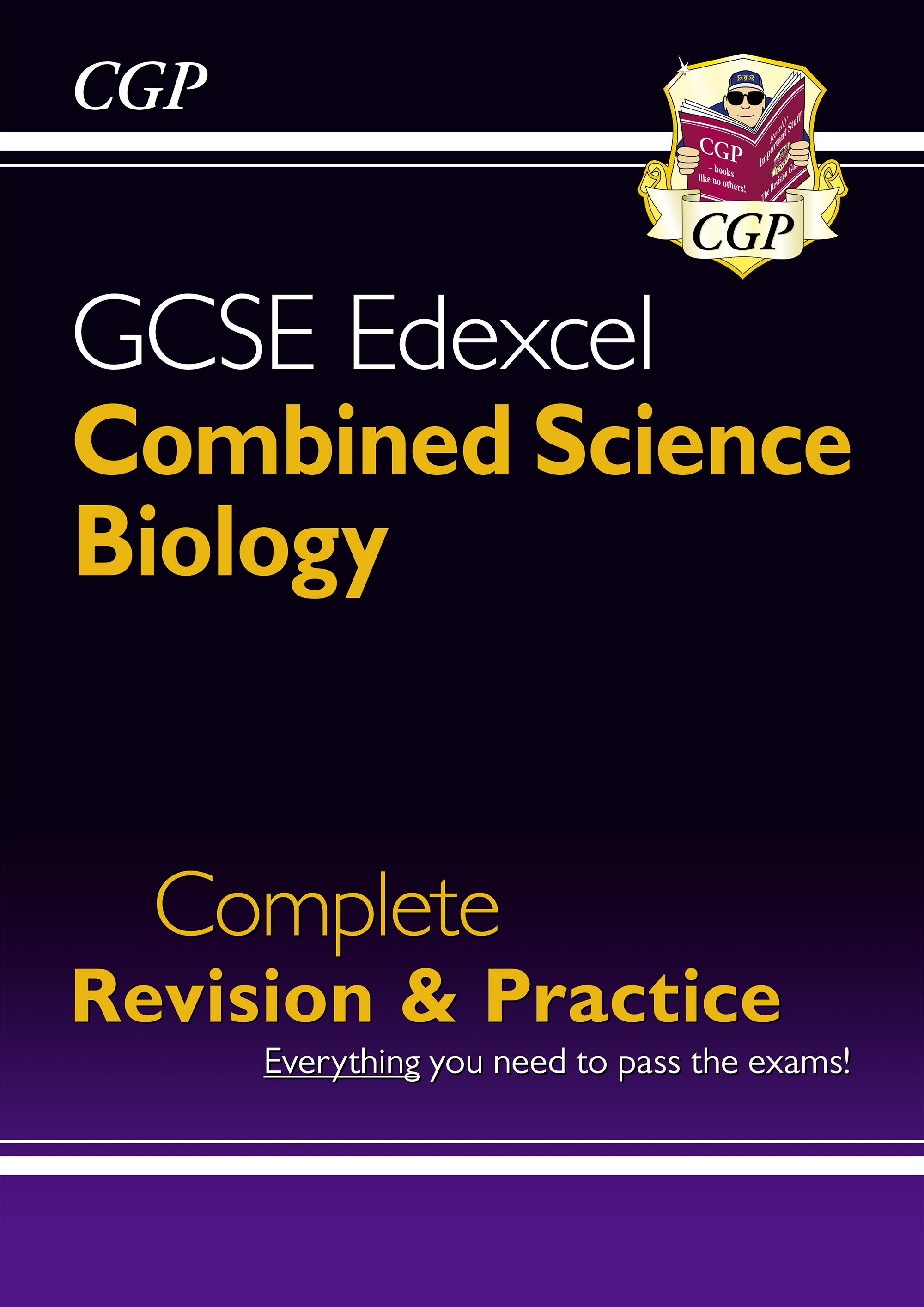SCBES41DK - New Grade 9-1 GCSE Combined Science: Biology Edexcel Complete Revision & Practice