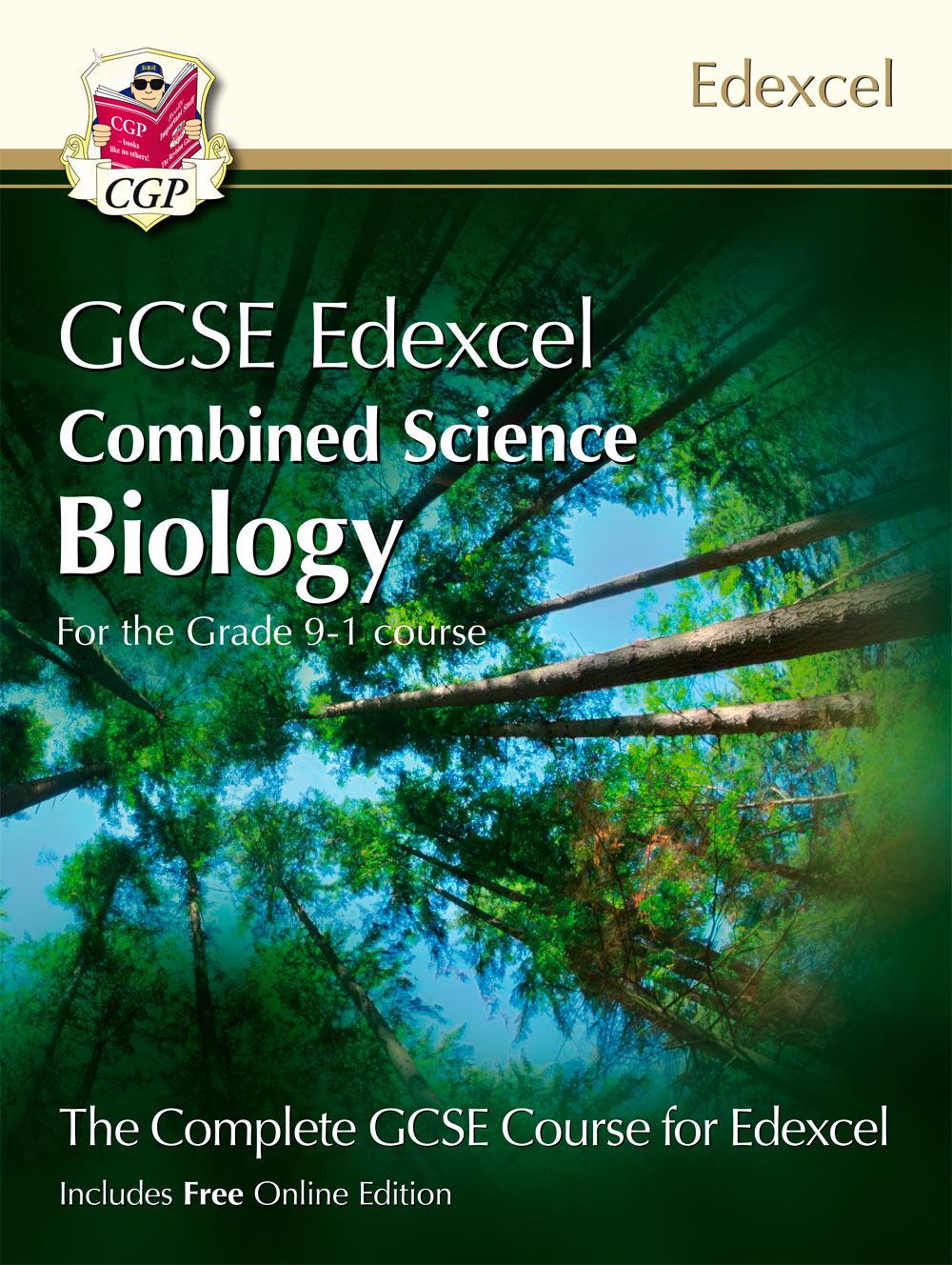 SCBET41 - New Grade 9-1 GCSE Combined Science for Edexcel Biology Student Book with Online Edition