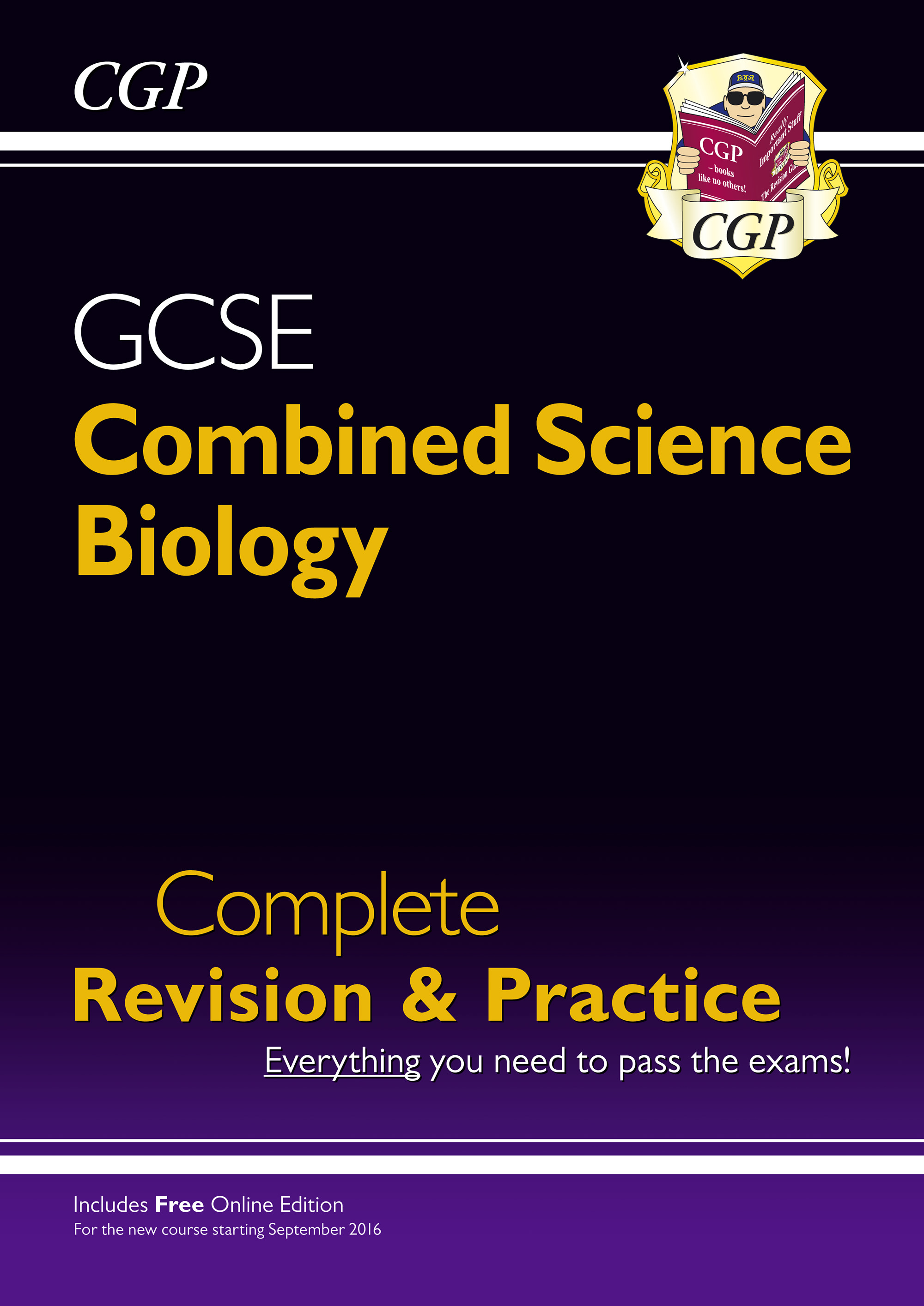 SCBS41 - New Grade 9-1 GCSE Combined Science: Biology Complete Revision & Practice with Online Editi