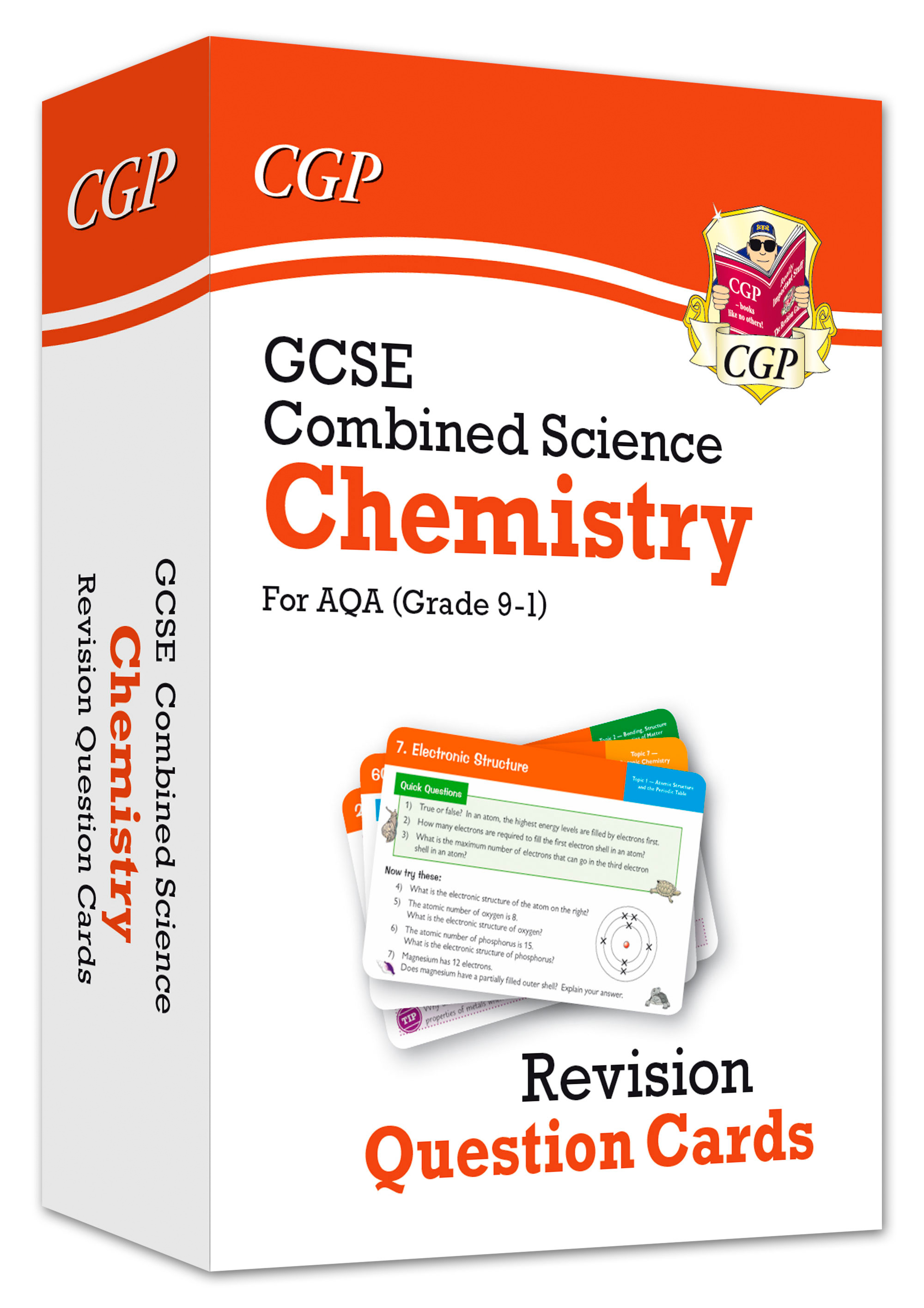 SCCAF41DK - New 9-1 GCSE Combined Science: Chemistry AQA Revision Question Cards