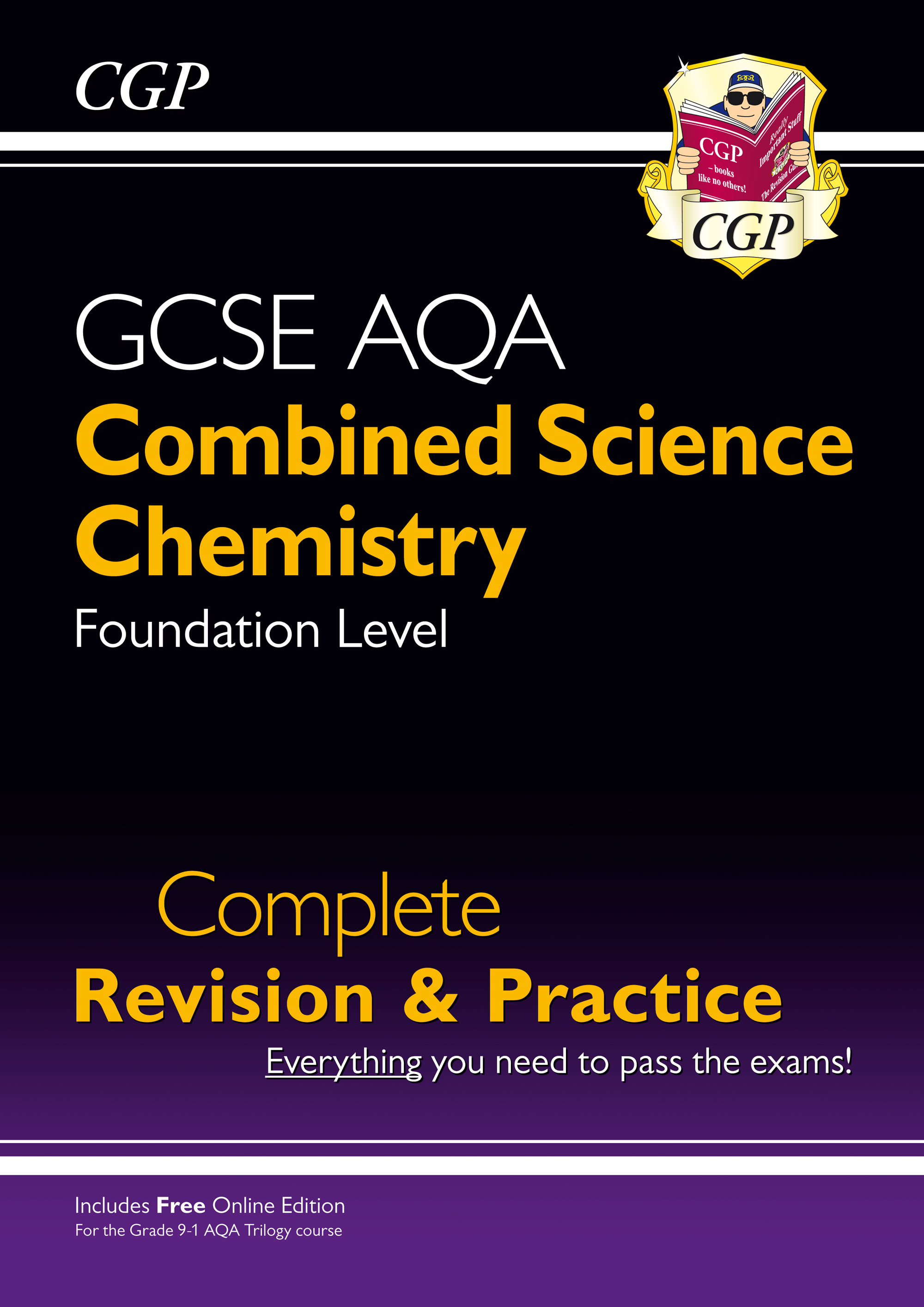 SCCAFS41 - New 9-1 GCSE Combined Science: Chemistry AQA Foundation Complete Revision & Practice with