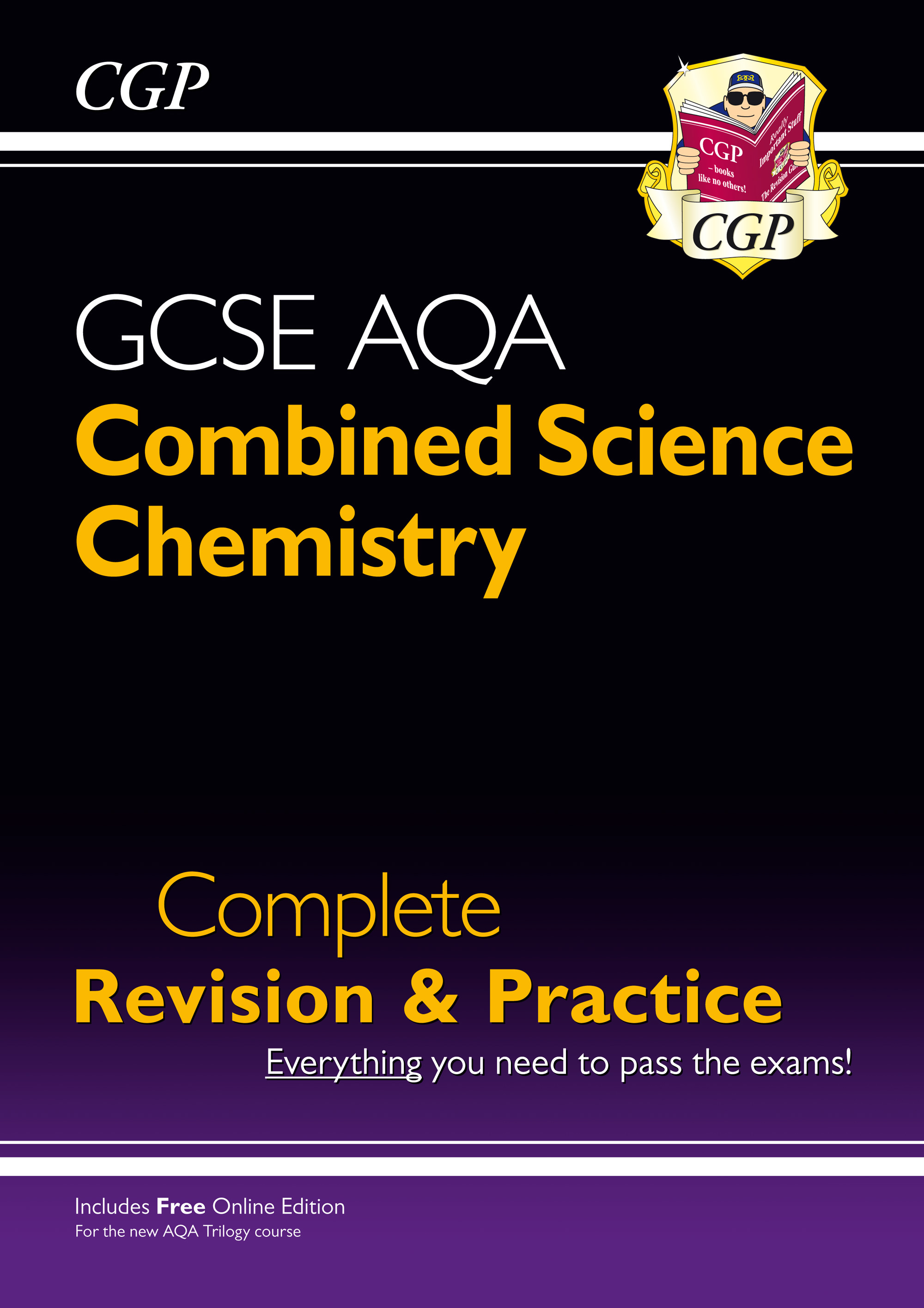 SCCAS41 - New 9-1 GCSE Combined Science: Chemistry AQA Higher Complete Revision & Practice with Onli