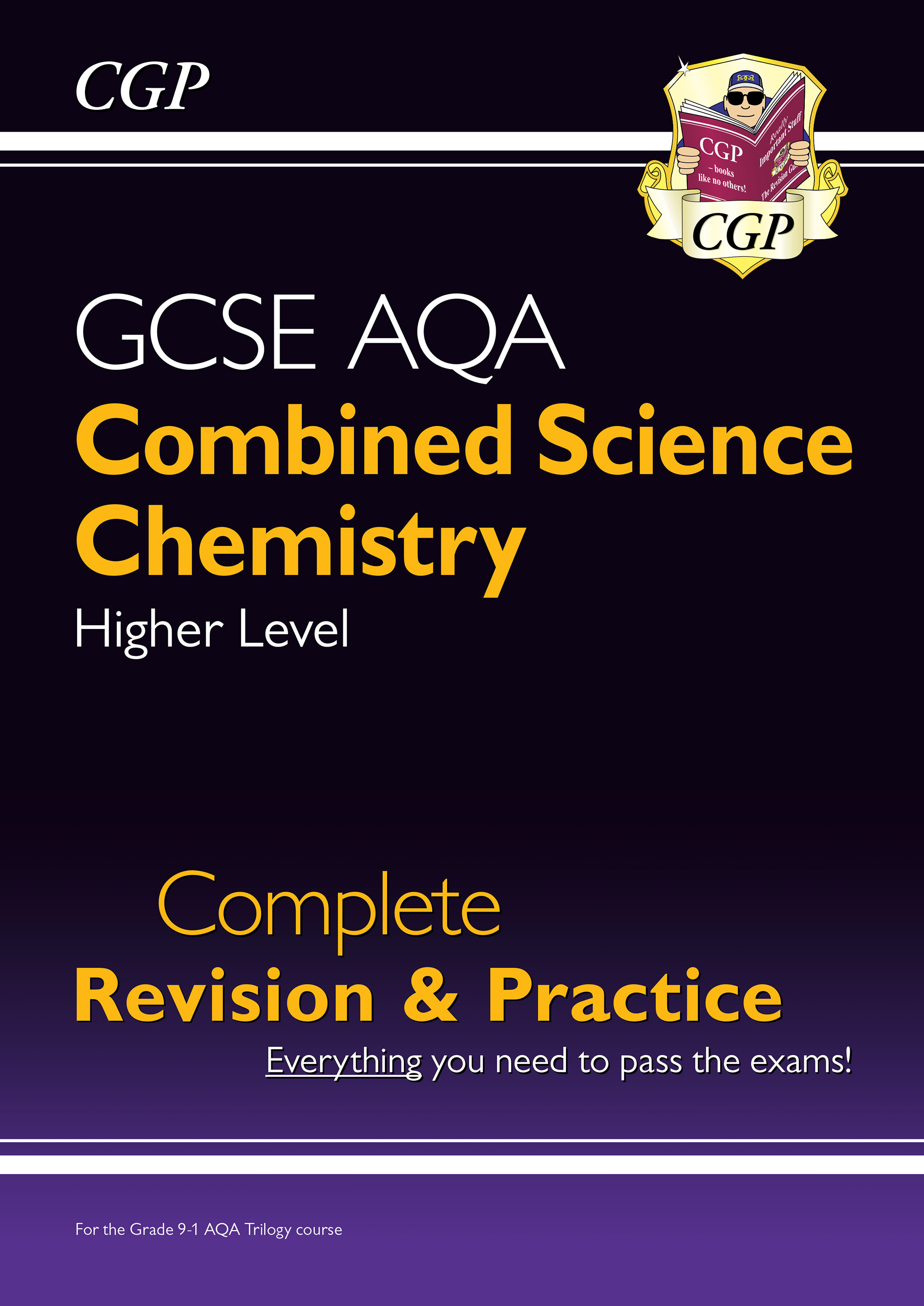 SCCAS41DK - New 9-1 GCSE Combined Science: Chemistry AQA Higher Complete Revision & Practice