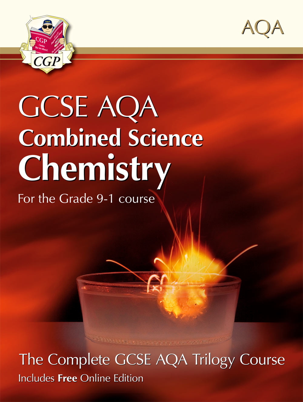 SCCAT41 - Grade 9-1 GCSE Combined Science for AQA Chemistry Student Book with Online Edition