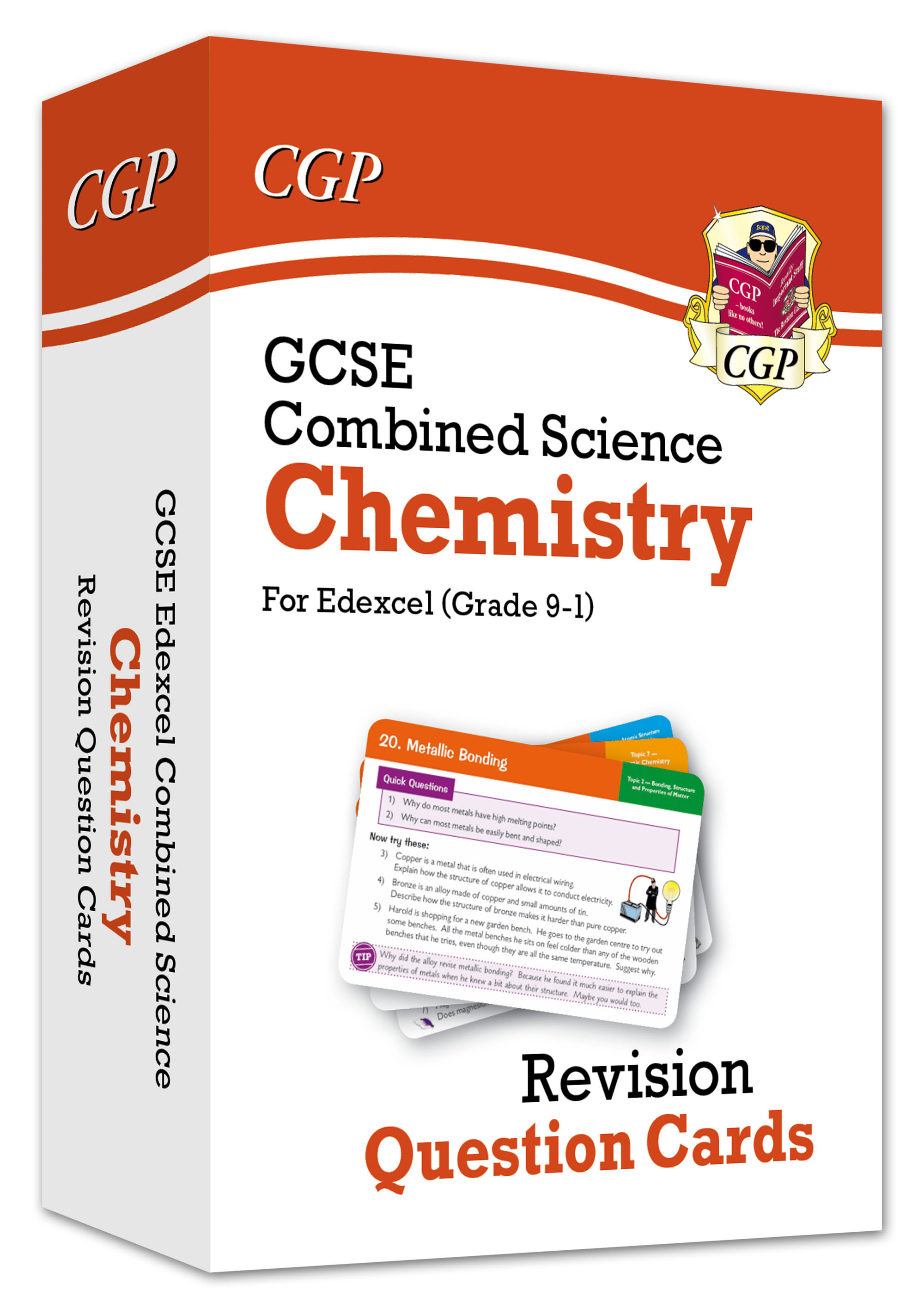 SCCEF41 - New 9-1 GCSE Combined Science: Chemistry Edexcel Revision Question Cards