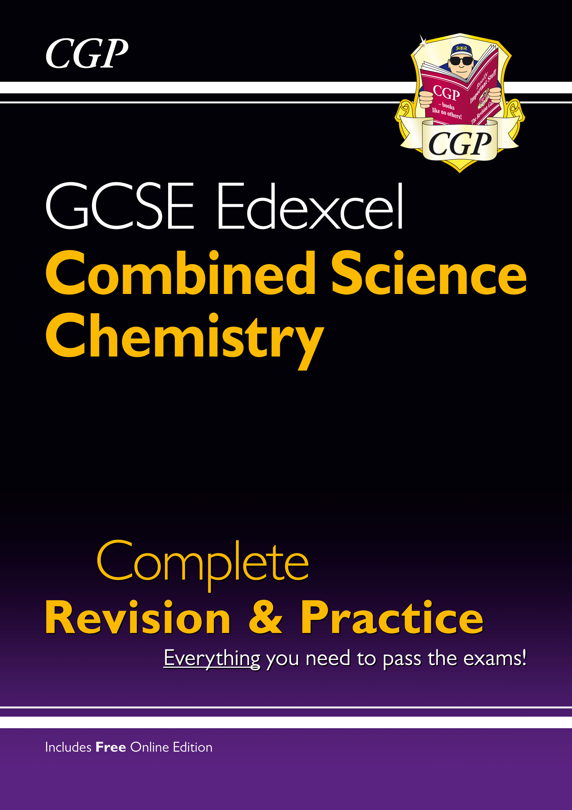 SCCES41 - Grade 9-1 GCSE Combined Science: Chemistry Edexcel Complete Revision & Practice with Onlin