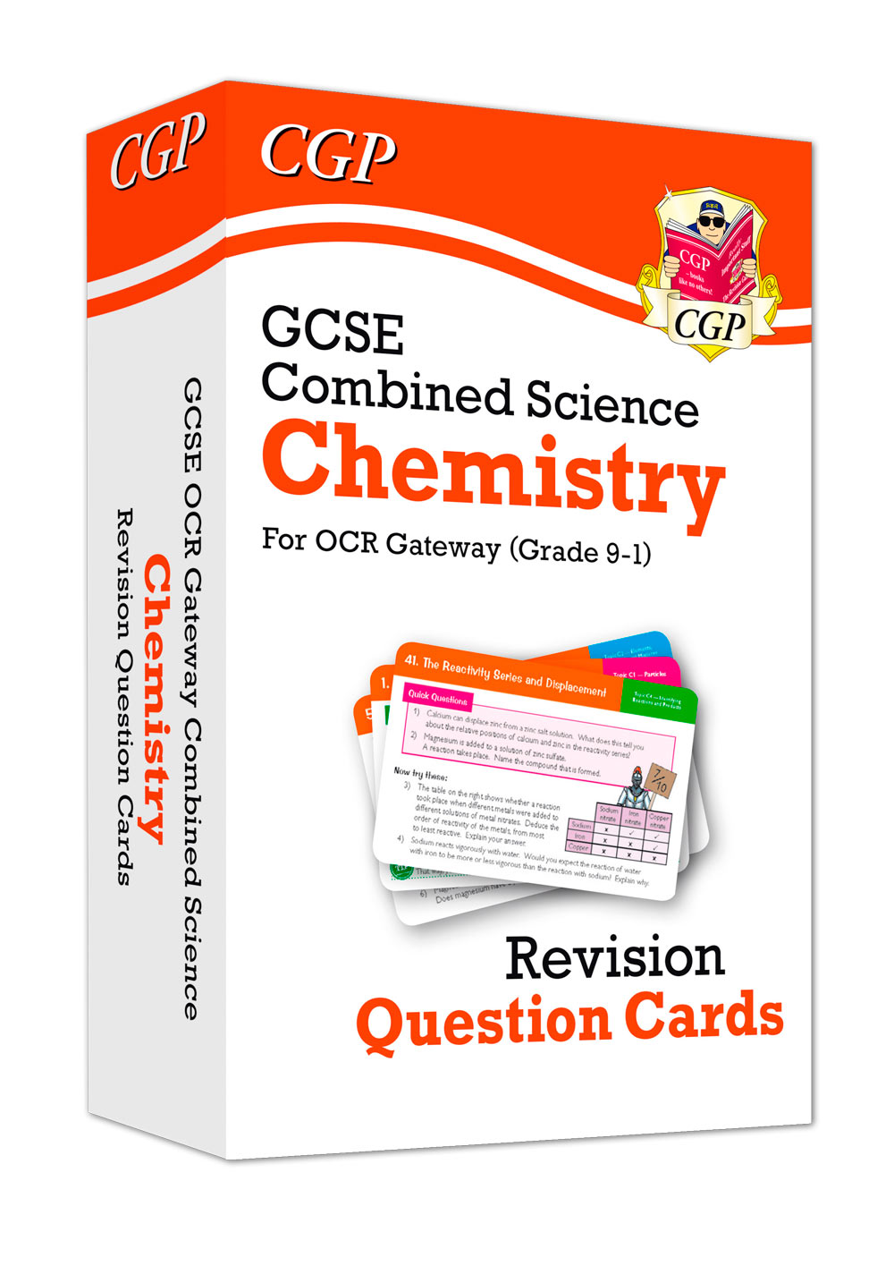 SCCRF41 - New 9-1 GCSE Combined Science: Chemistry OCR Gateway Revision Question Cards