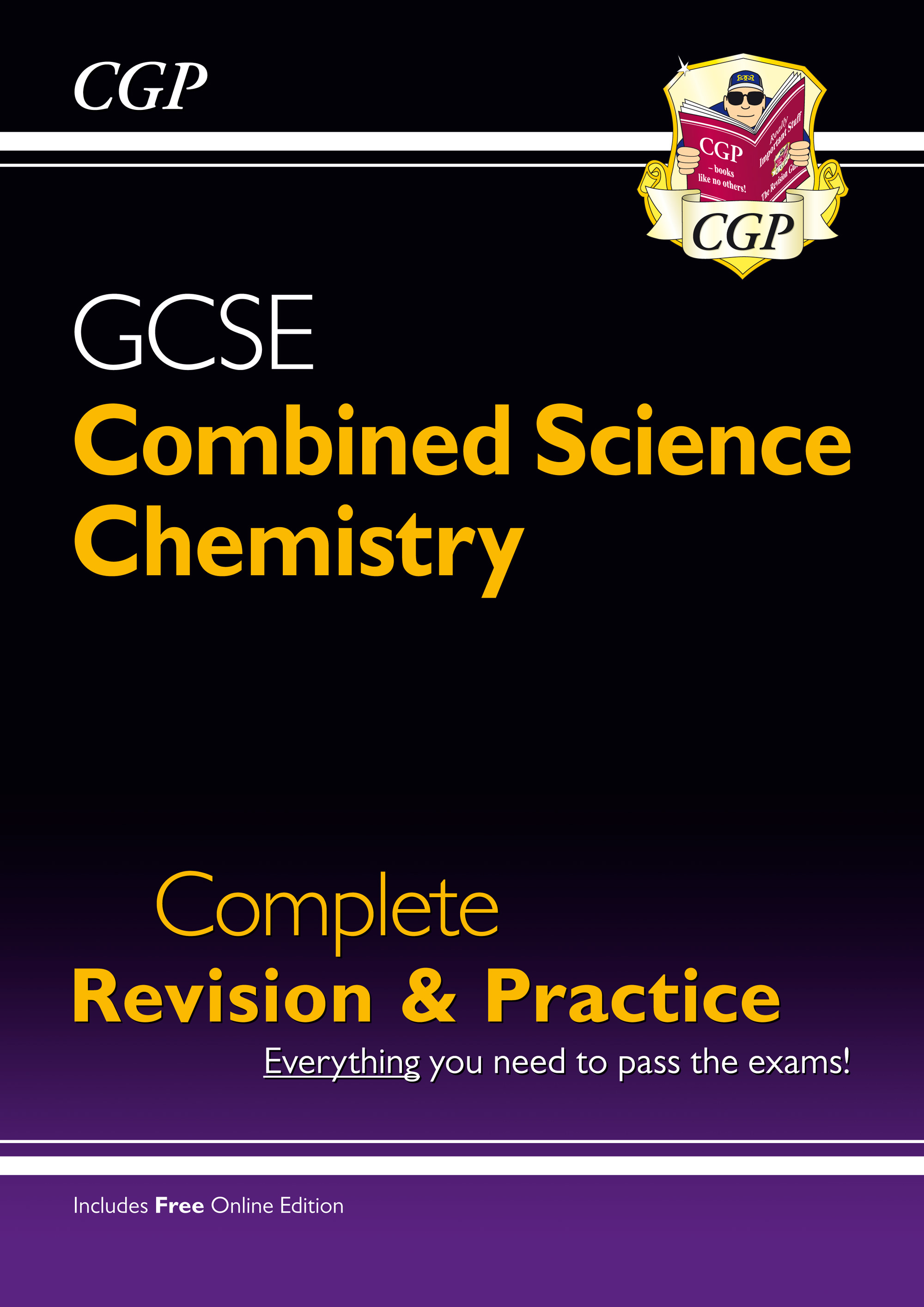 SCCS41 - Grade 9-1 GCSE Combined Science: Chemistry Complete Revision & Practice with Online Edition