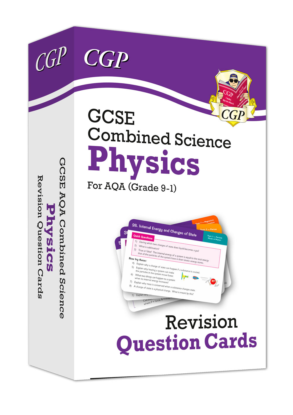 SCPAF41 - 9-1 GCSE Combined Science: Physics AQA Revision Question Cards
