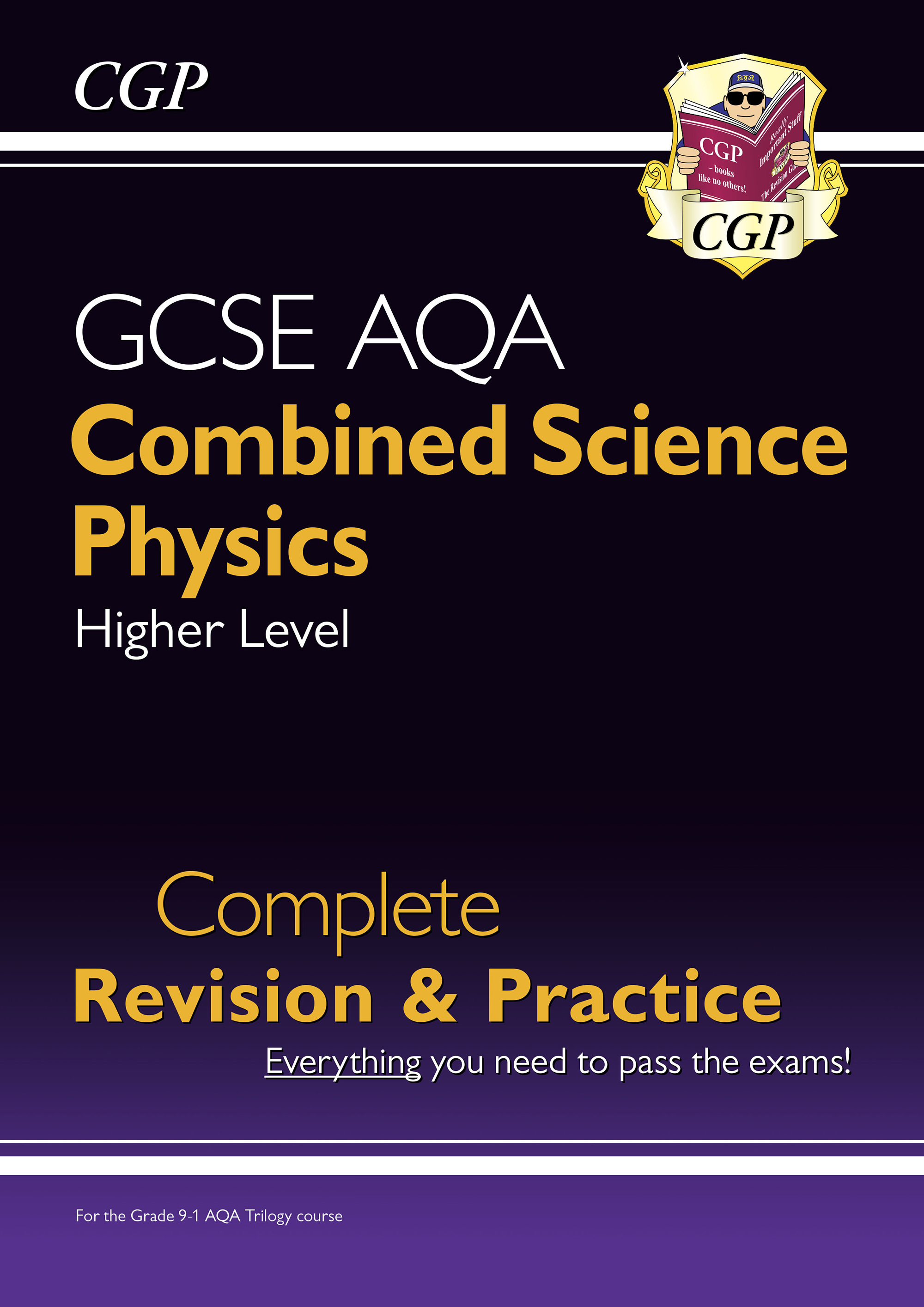 SCPAS41DK - New 9-1 GCSE Combined Science: Physics AQA Higher Complete Revision & Practice