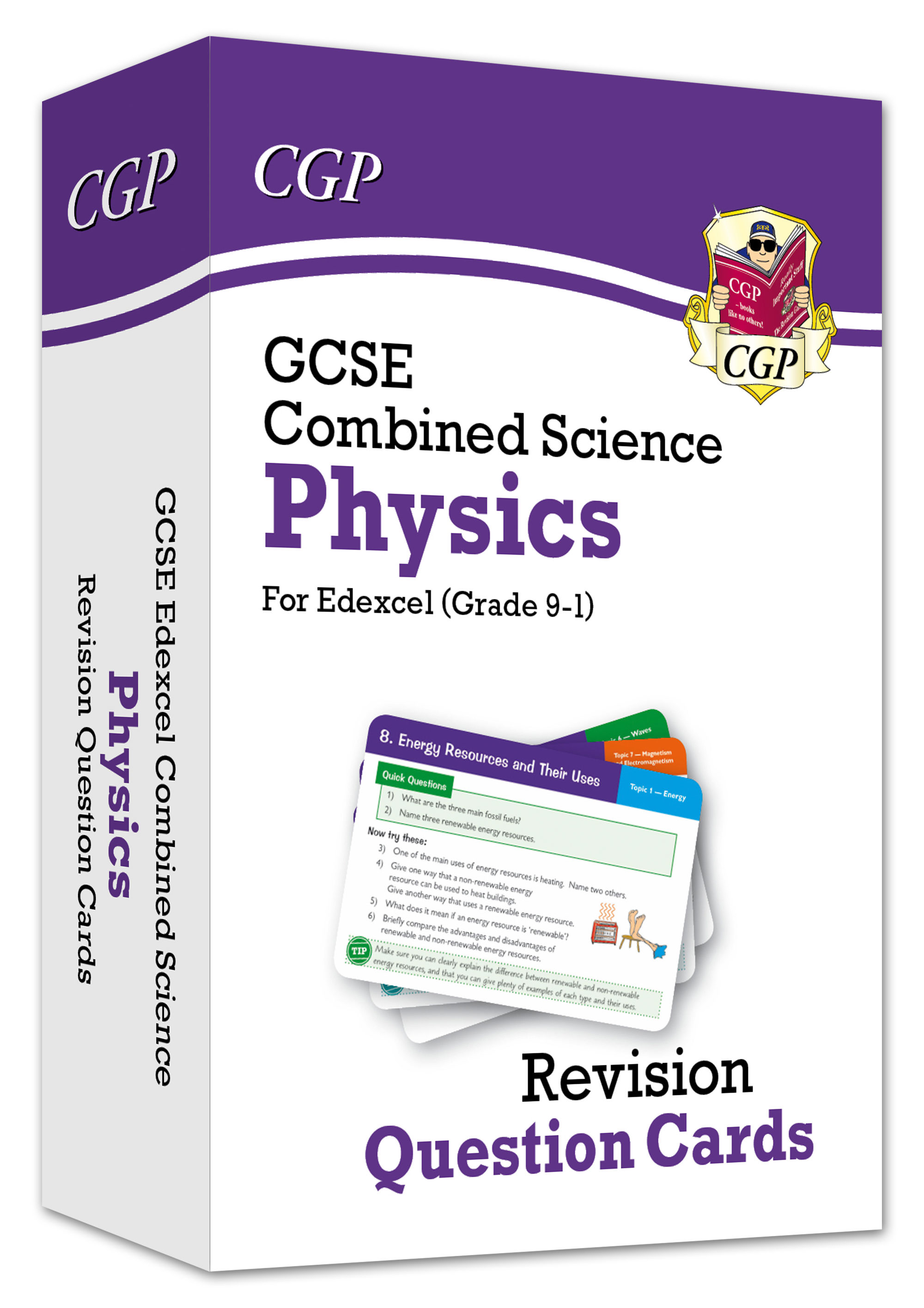 SCPEF41 - New 9-1 GCSE Combined Science: Physics Edexcel Revision Question Cards