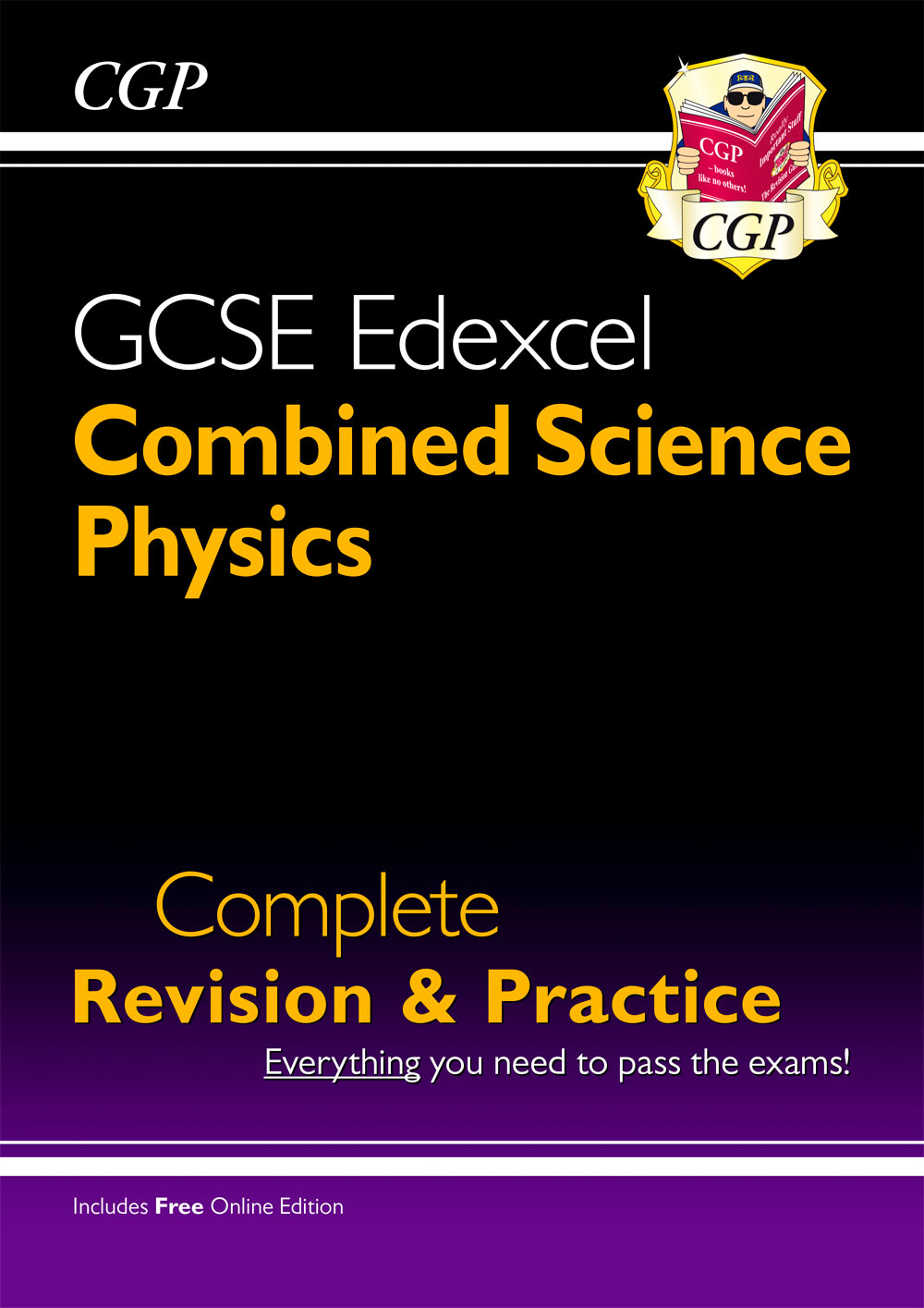 SCPES41 - Grade 9-1 GCSE Combined Science: Physics Edexcel Complete Revision & Practice with Online