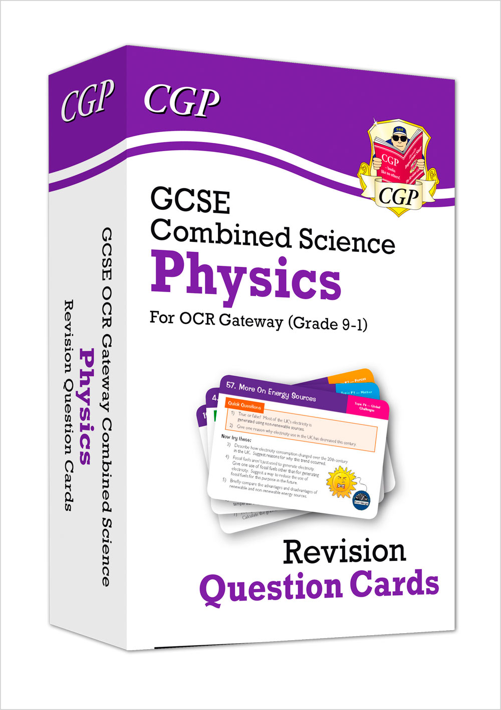 SCPRF41 - New 9-1 GCSE Combined Science: Physics OCR Gateway Revision Question Cards