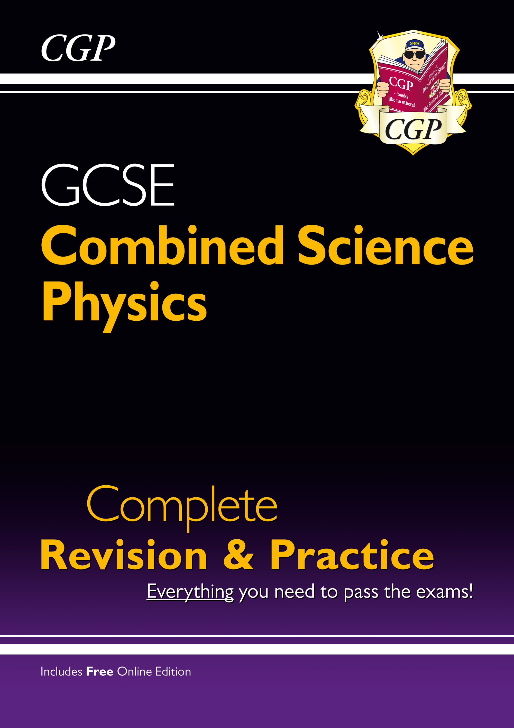 SCPS41 - Grade 9-1 GCSE Combined Science: Physics Complete Revision & Practice with Online Edition
