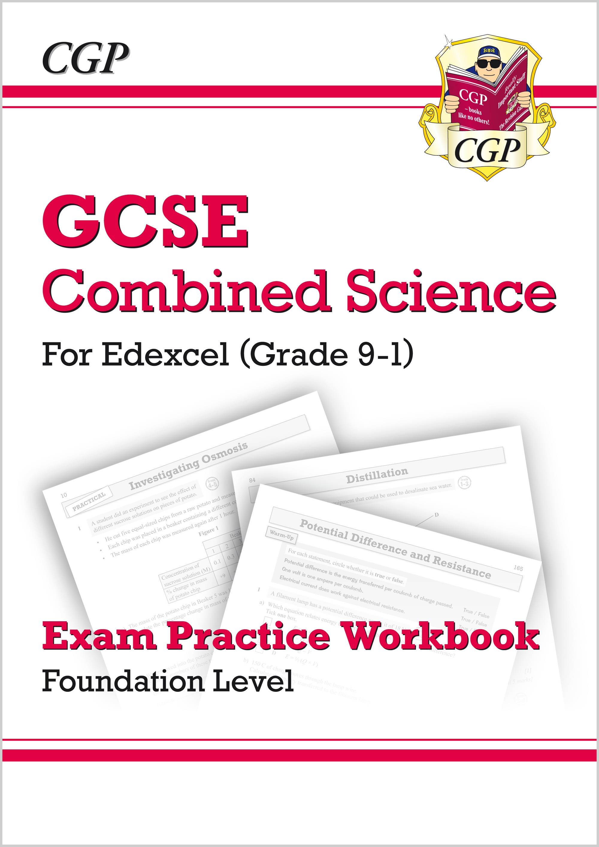 SEFQ41 - New Grade 9-1 GCSE Combined Science: Edexcel Exam Practice Workbook - Foundation
