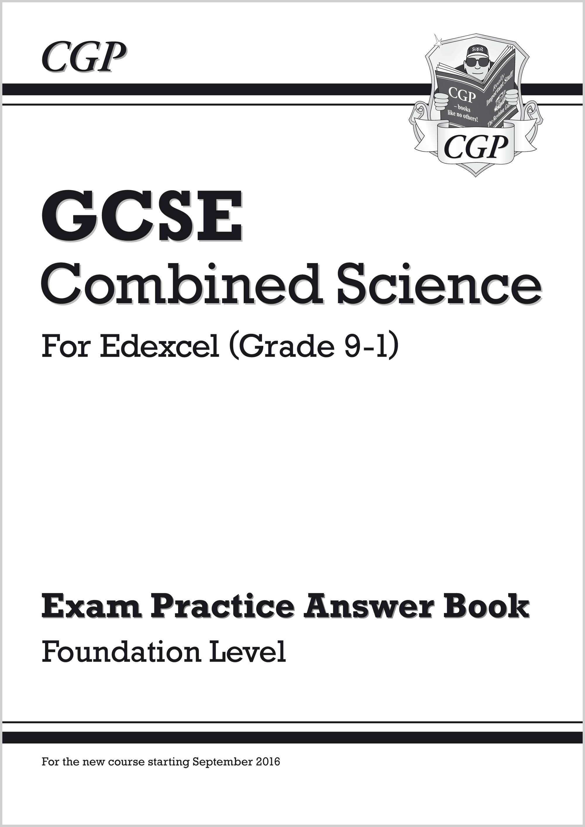 SEFQA41 - GCSE Combined Science: Edexcel Answers (for Exam Practice Workbook) - Foundation