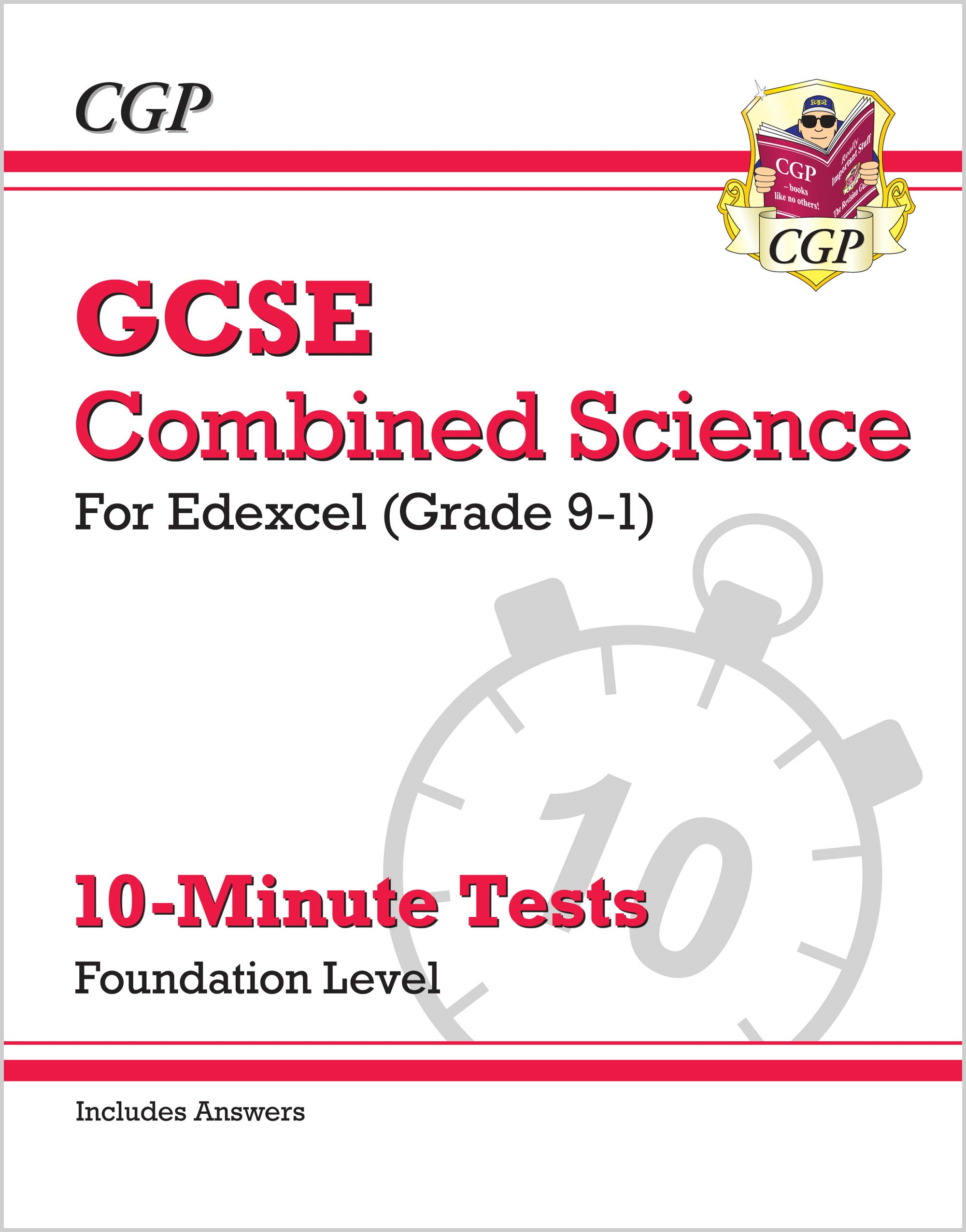SEFXP41 - New Grade 9-1 GCSE Combined Science: Edexcel 10-Minute Tests (with answers) - Foundation