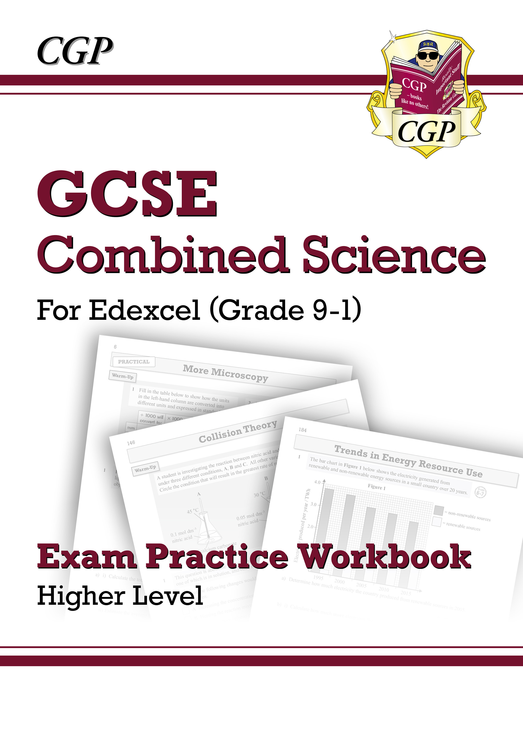 SEHQ41D - Grade 9-1 GCSE Combined Science: Edexcel Exam Practice Workbook - Higher
