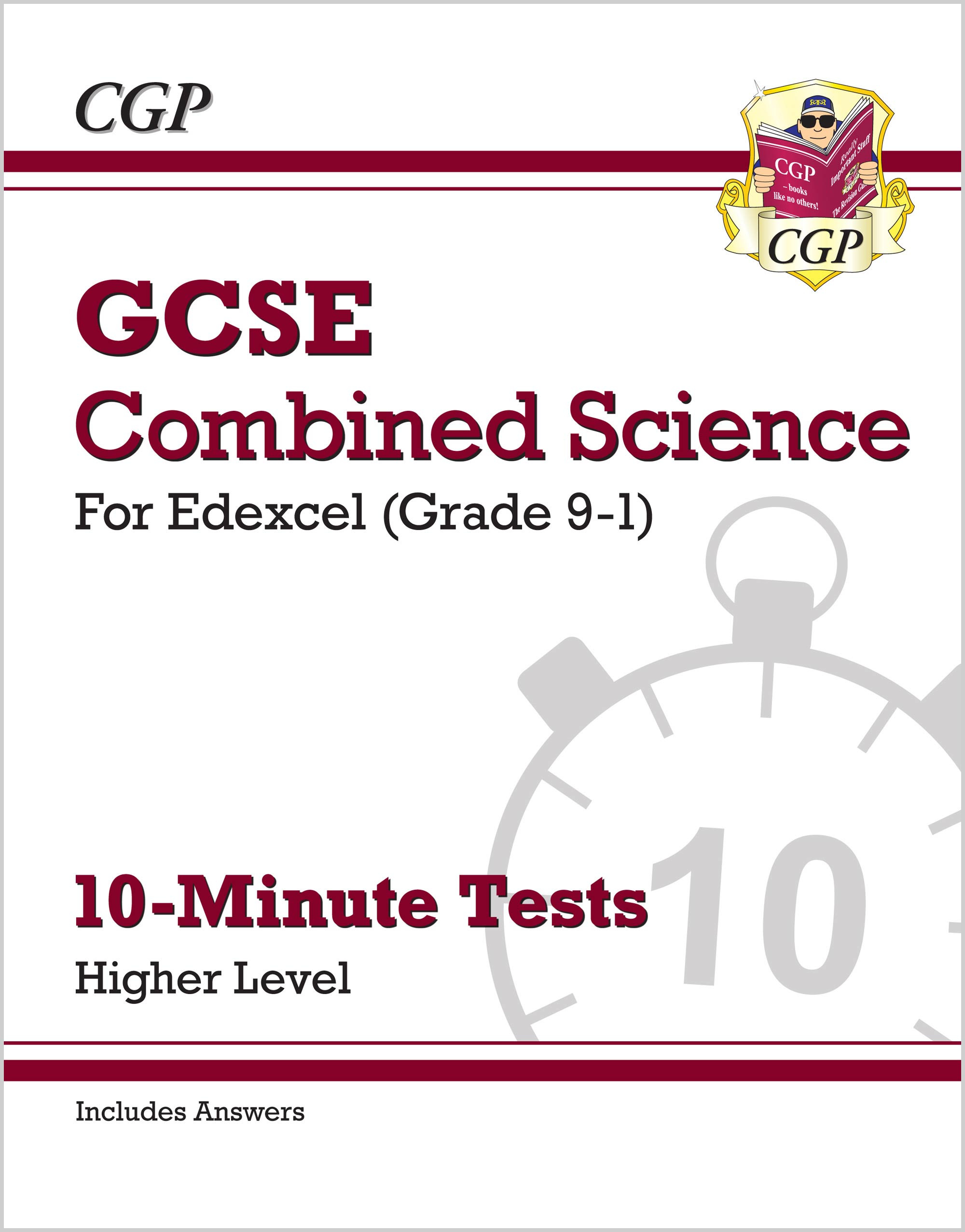 SEHXP41 - New Grade 9-1 GCSE Combined Science: Edexcel 10-Minute Tests (with answers) - Higher