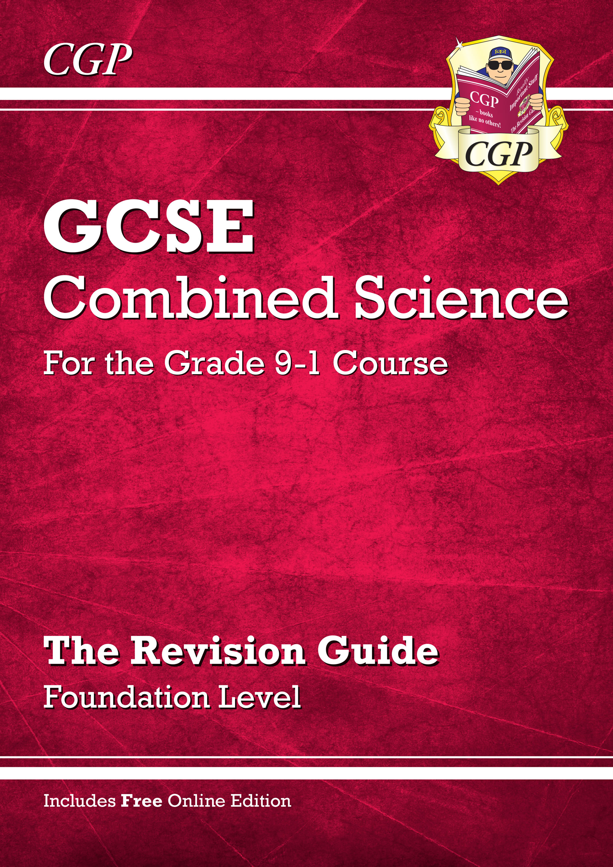 SFR45 - Grade 9-1 GCSE Combined Science: Revision Guide with Online Edition - Foundation