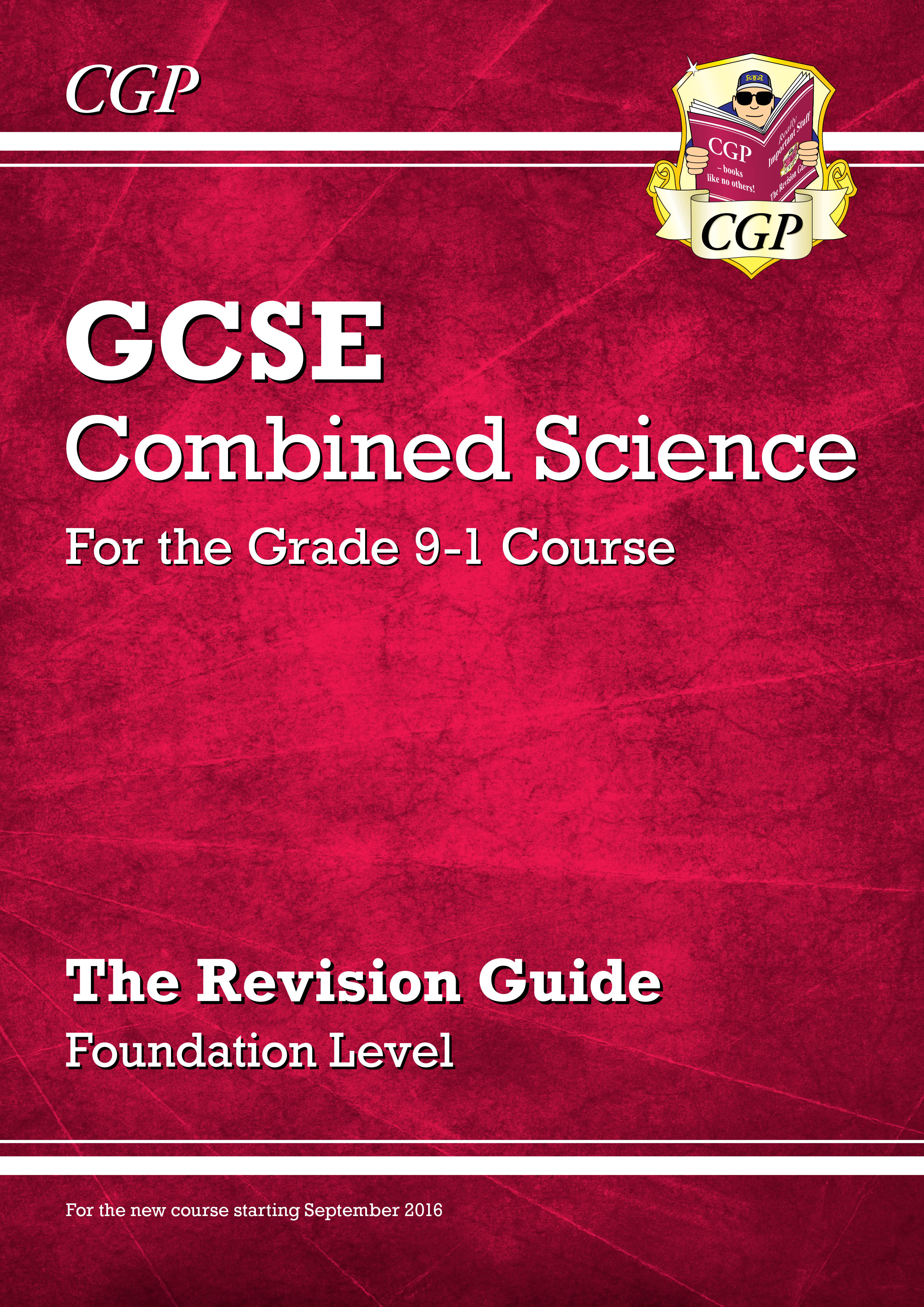 SFR45DK - New Grade 9-1 GCSE Combined Science: Revision Guide - Foundation