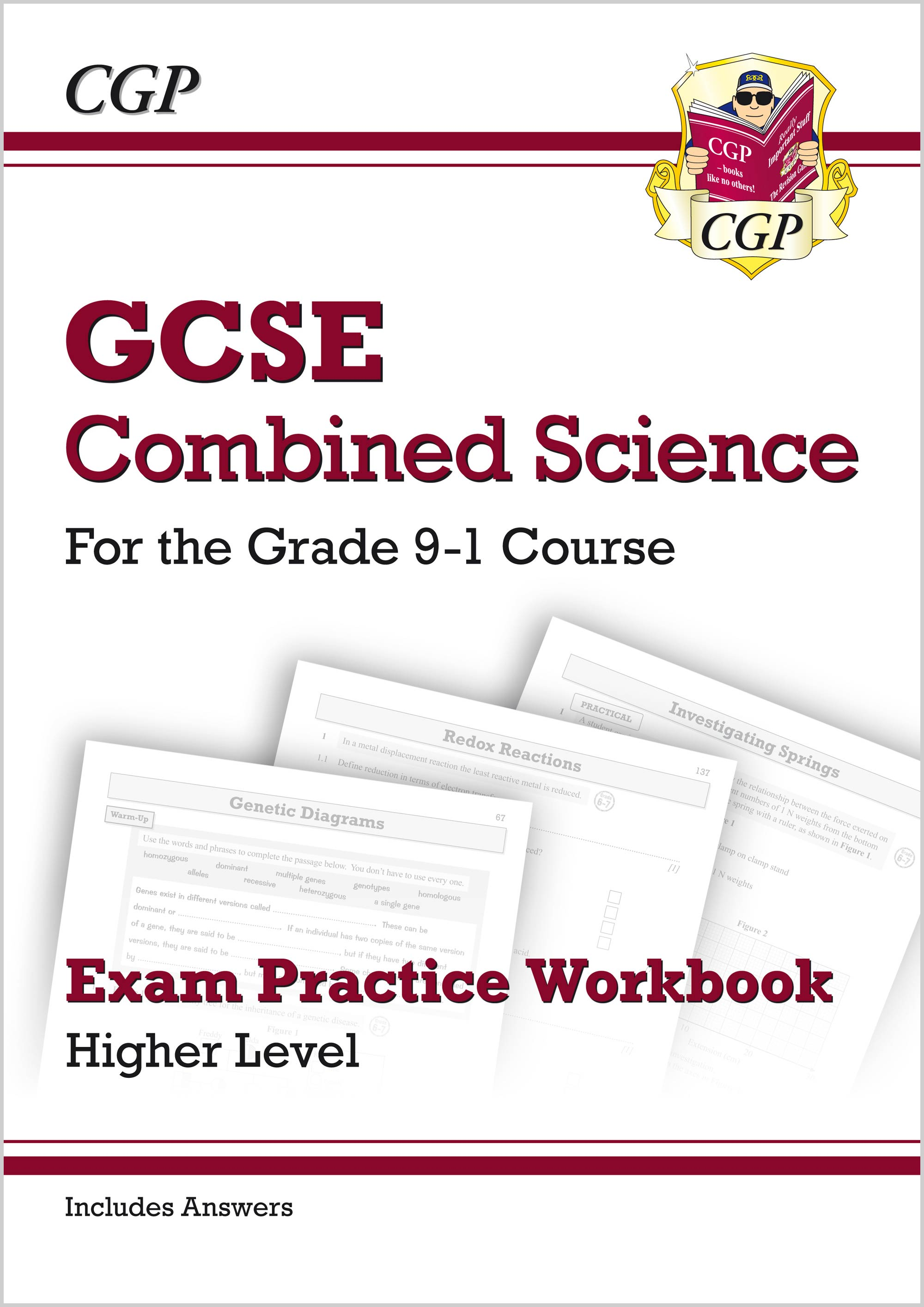 SHQ41B - New Grade 9-1 GCSE Combined Science: Exam Practice Workbook (with answers) - Higher