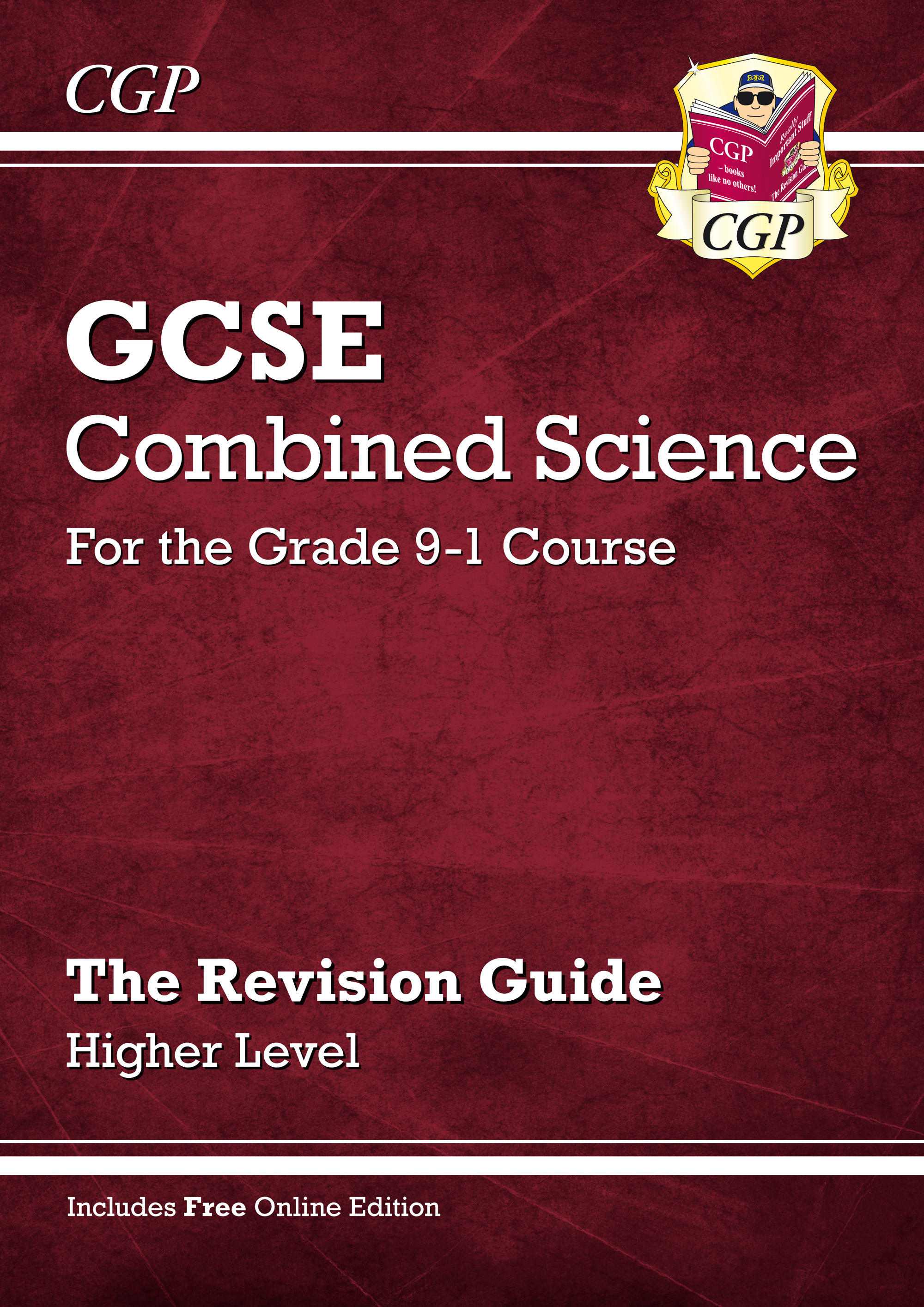 SHR45 - Grade 9-1 GCSE Combined Science: Revision Guide with Online Edition - Higher